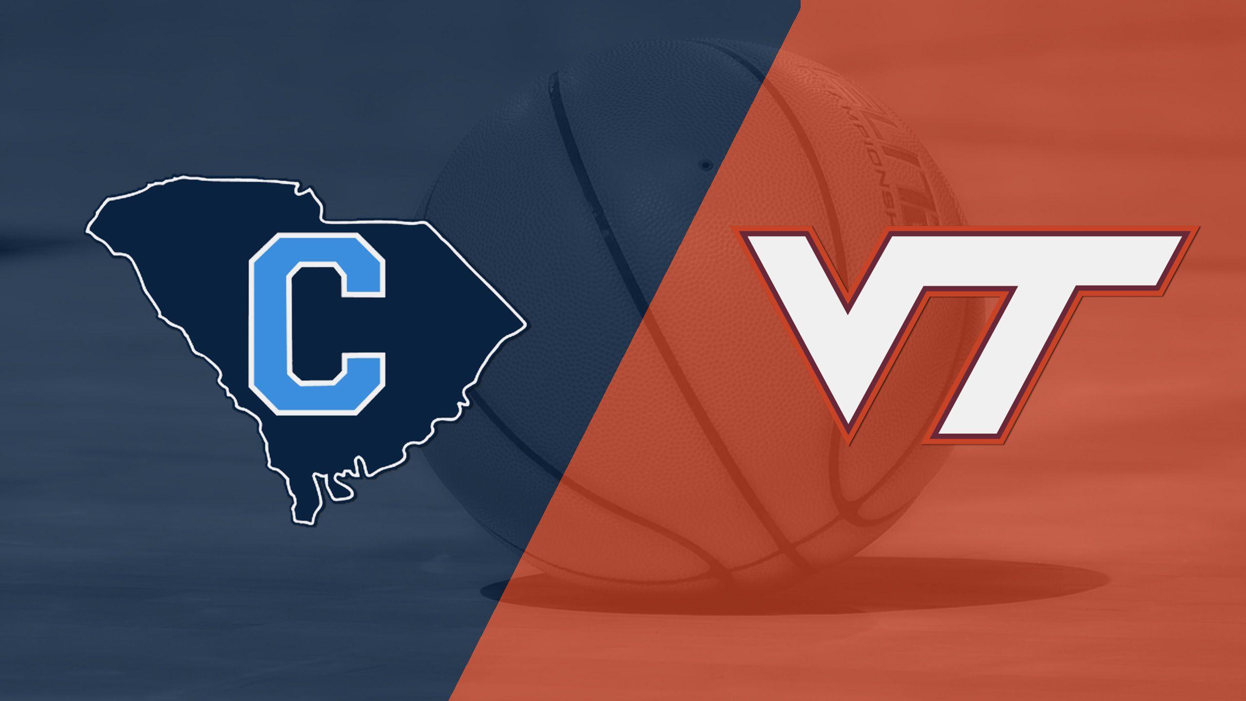 The Citadel vs. Virginia Tech (M Basketball)