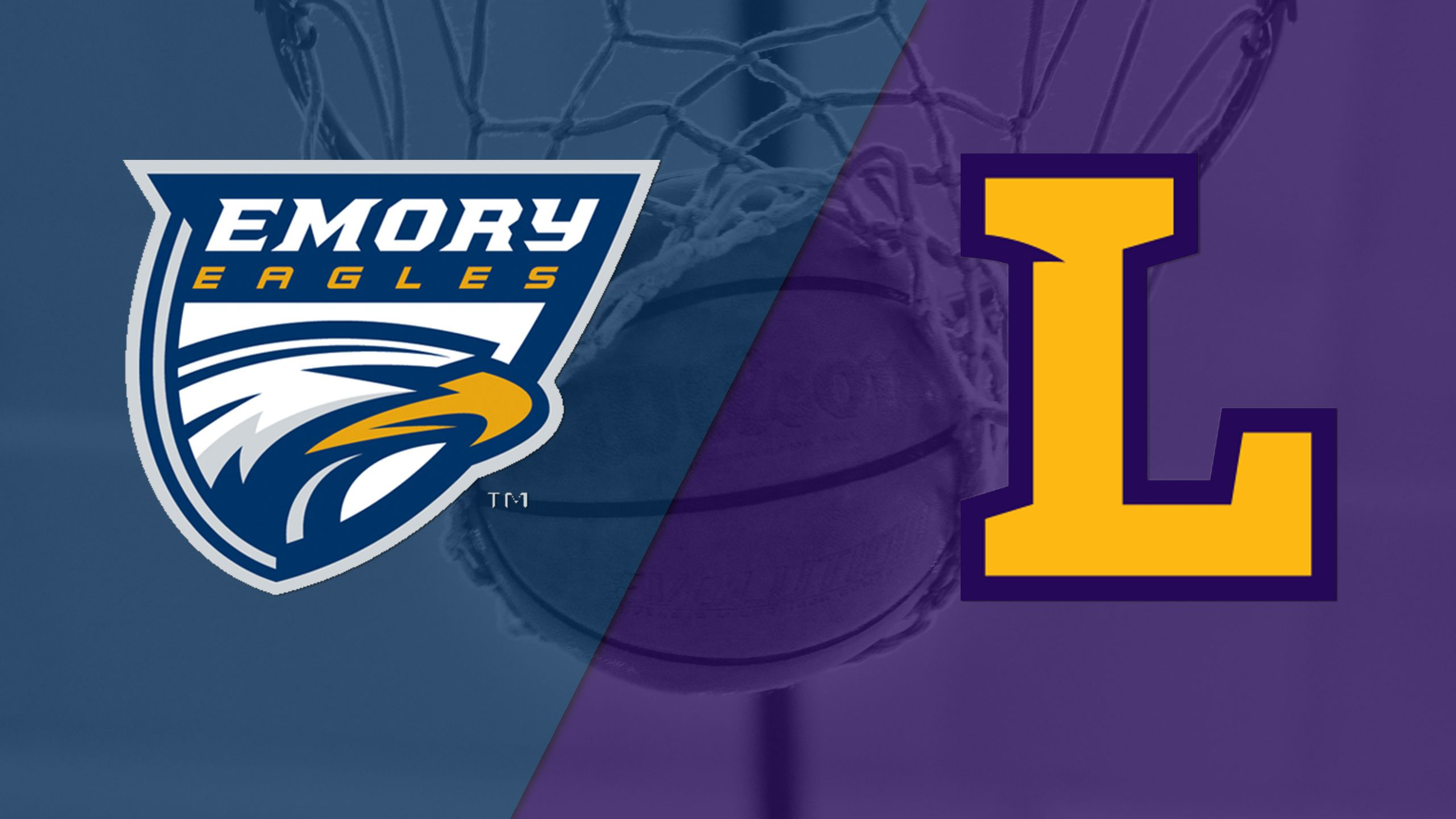Emory vs. Lipscomb (M Basketball)