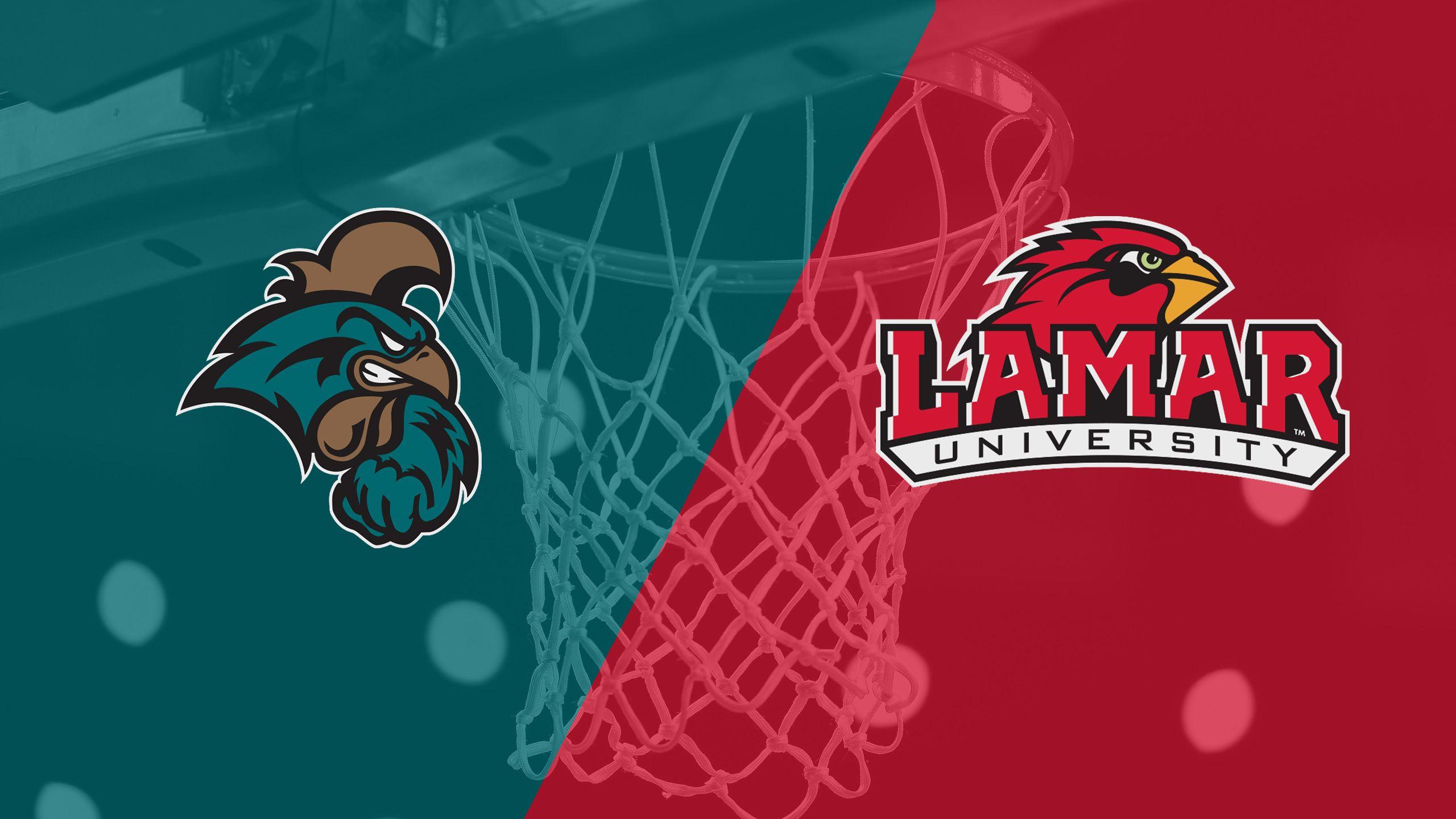Coastal Carolina vs. Lamar (M Basketball)