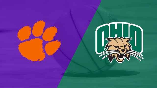 Clemson vs. Ohio University (Quarterfinal #3) (Gildan Charleston Classic)
