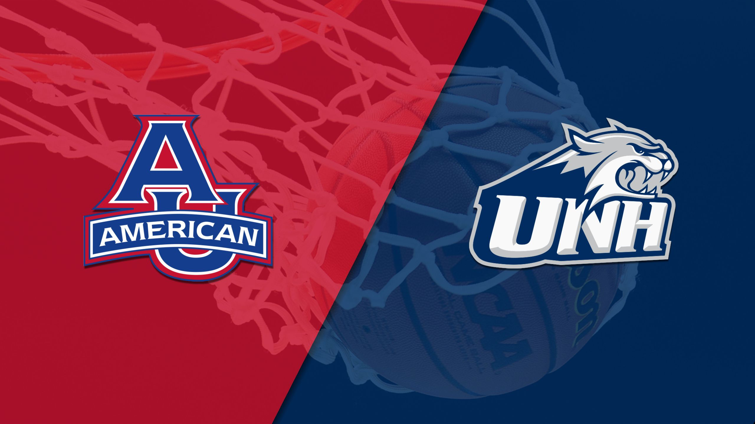 American University vs. New Hampshire (M Basketball)