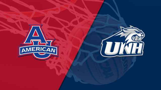 American University vs. New Hampshire (M Basketball)