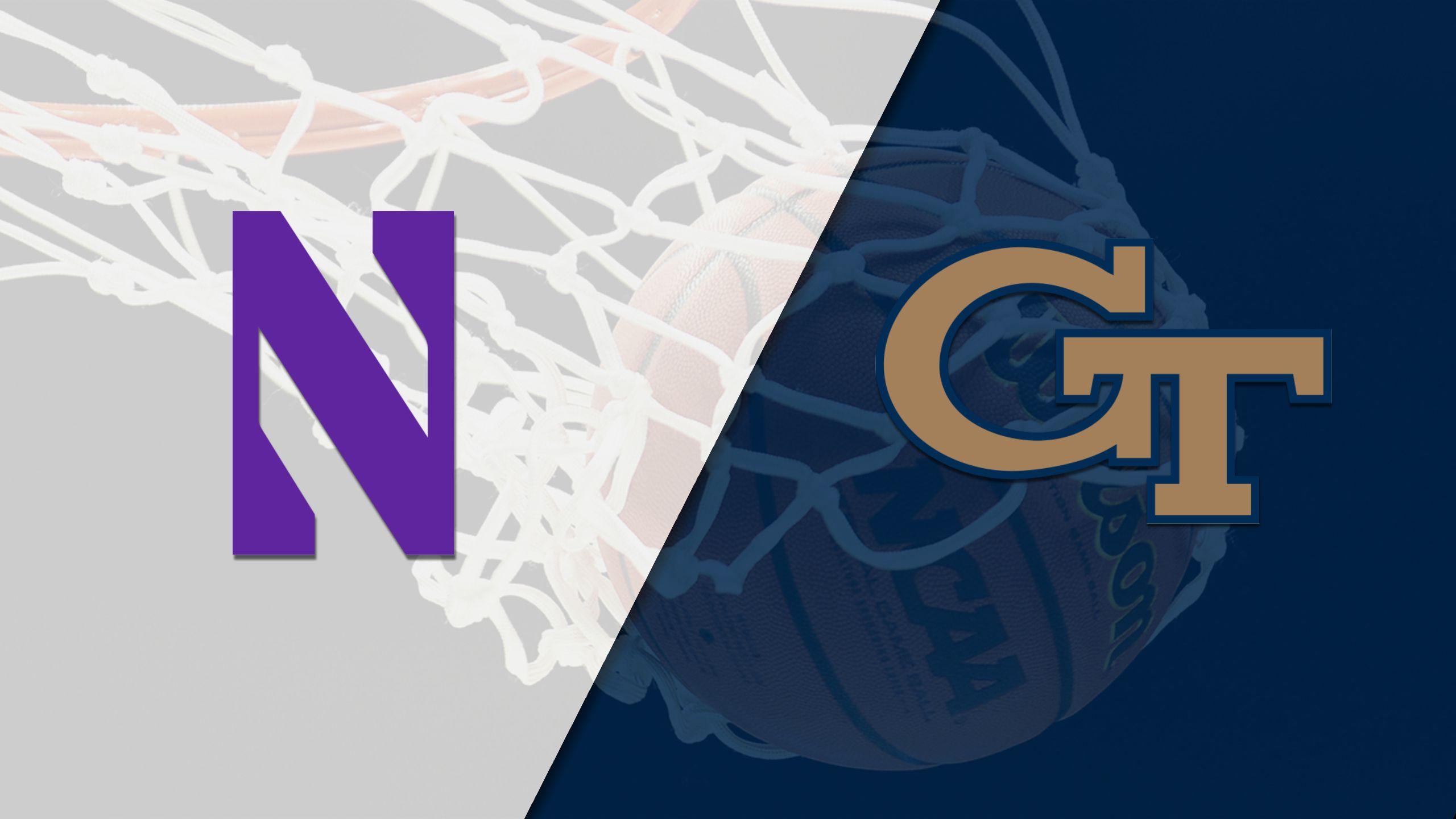 Northwestern vs. Georgia Tech (M Basketball)