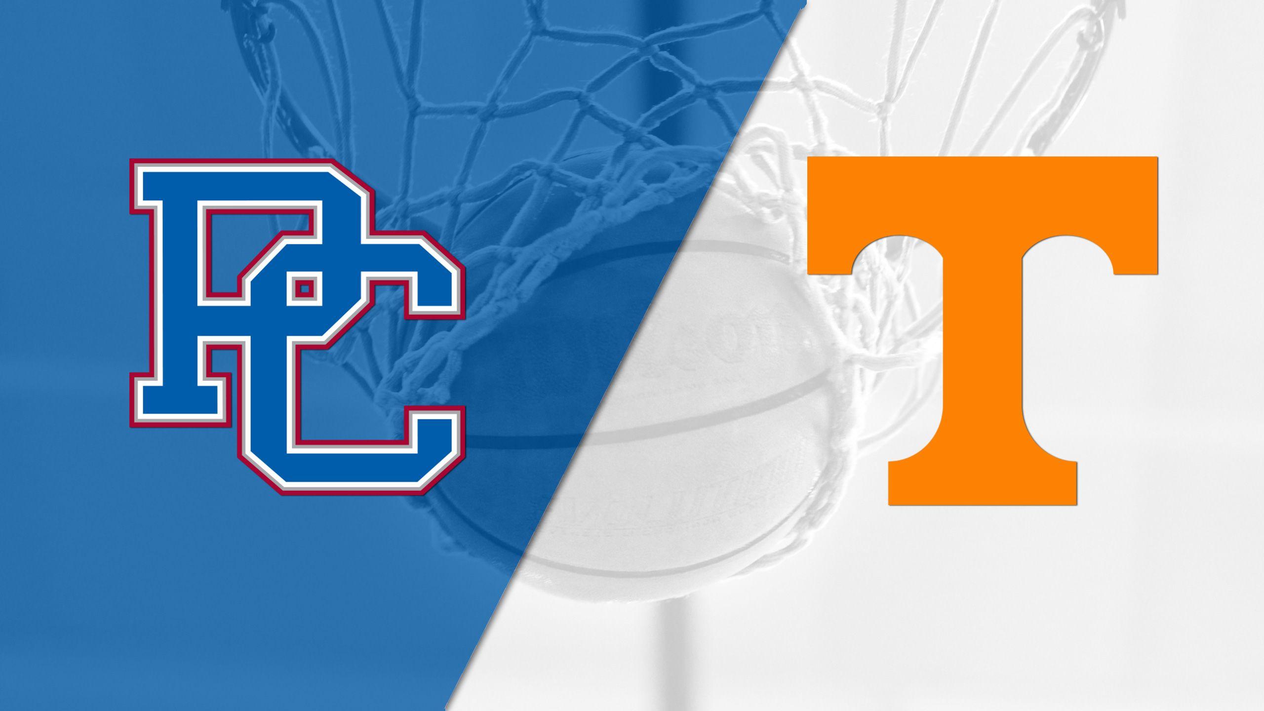 Presbyterian vs. Tennessee (M Basketball)