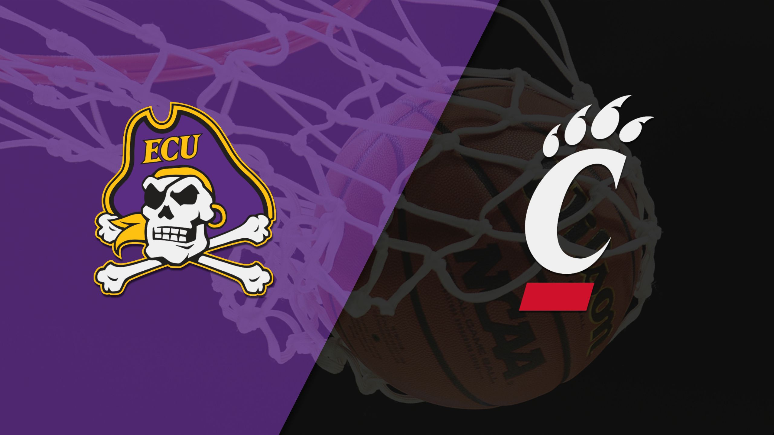 East Carolina vs. #12 Cincinnati (M Basketball)