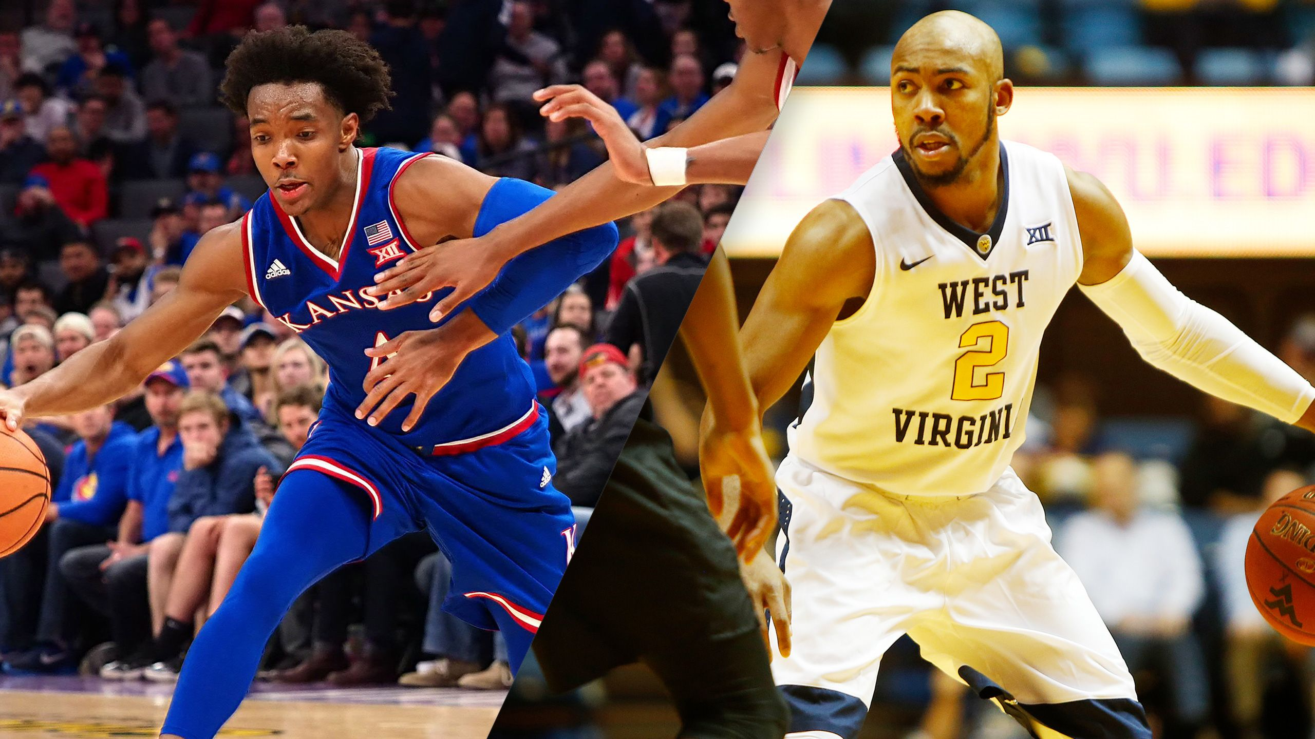 #10 Kansas vs. #6 West Virginia (M Basketball) (re-air)