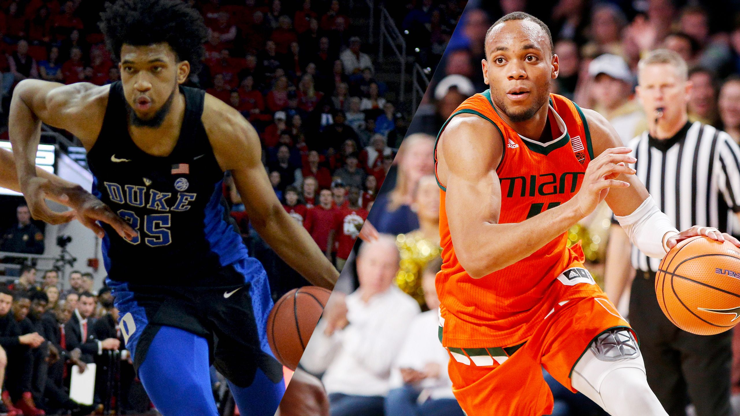 #5 Duke vs. #25 Miami (M Basketball) (re-air)