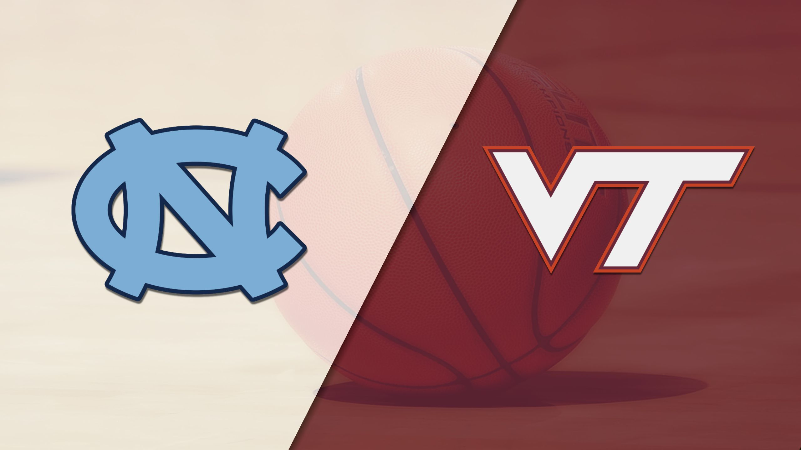 #10 North Carolina vs. Virginia Tech (M Basketball) (re-air)