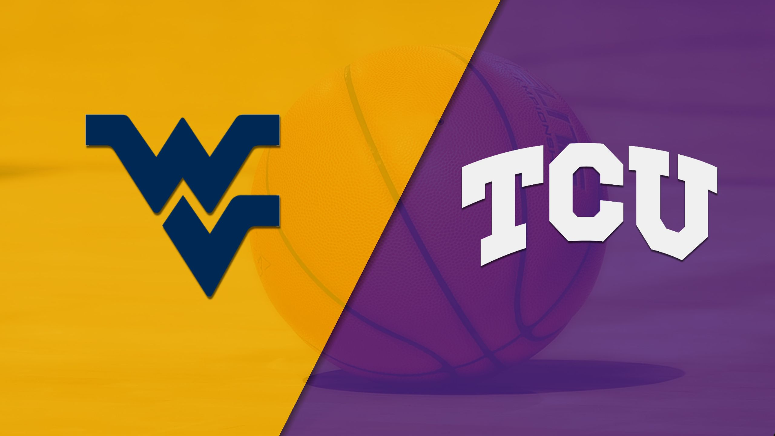 #7 West Virginia vs. TCU (M Basketball) (re-air)