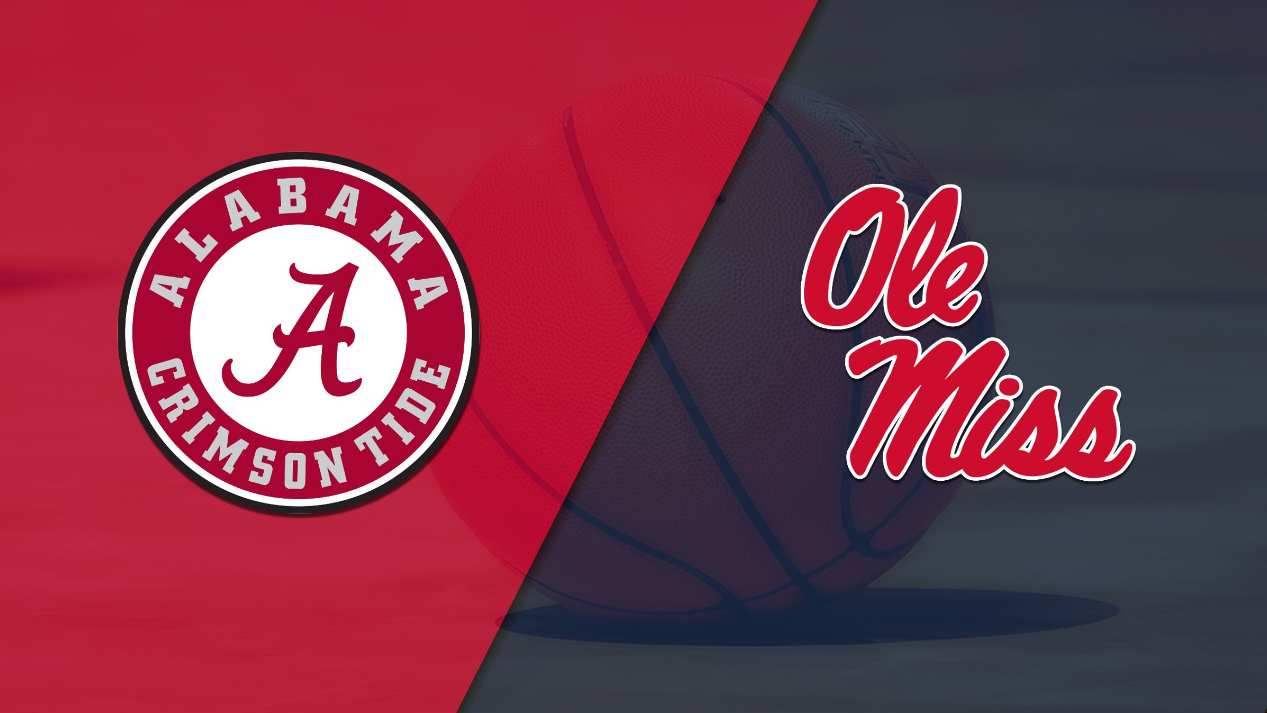 Alabama vs. Ole Miss (M Basketball) (re-air)