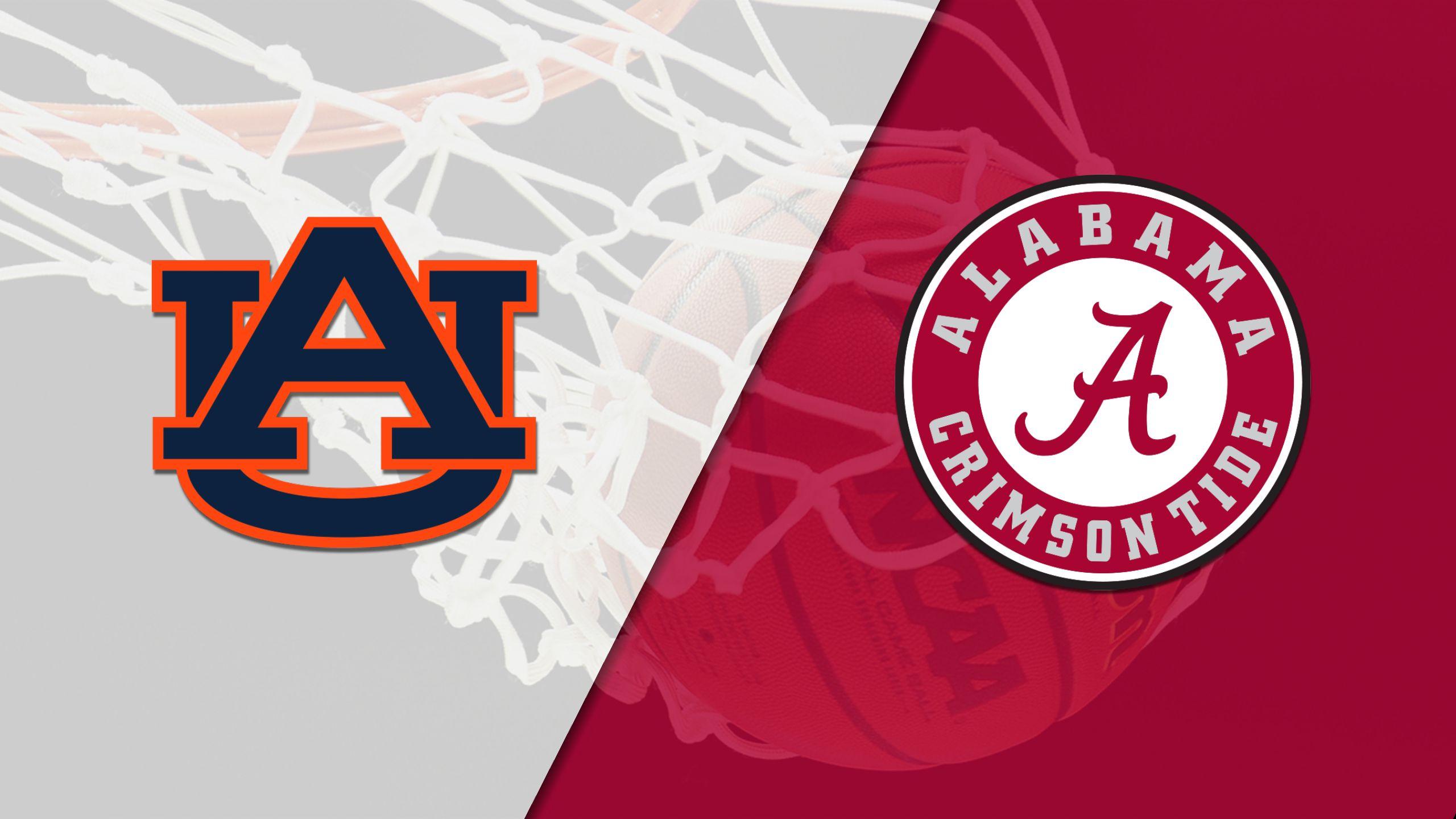 #17 Auburn vs. Alabama (M Basketball) (re-air)