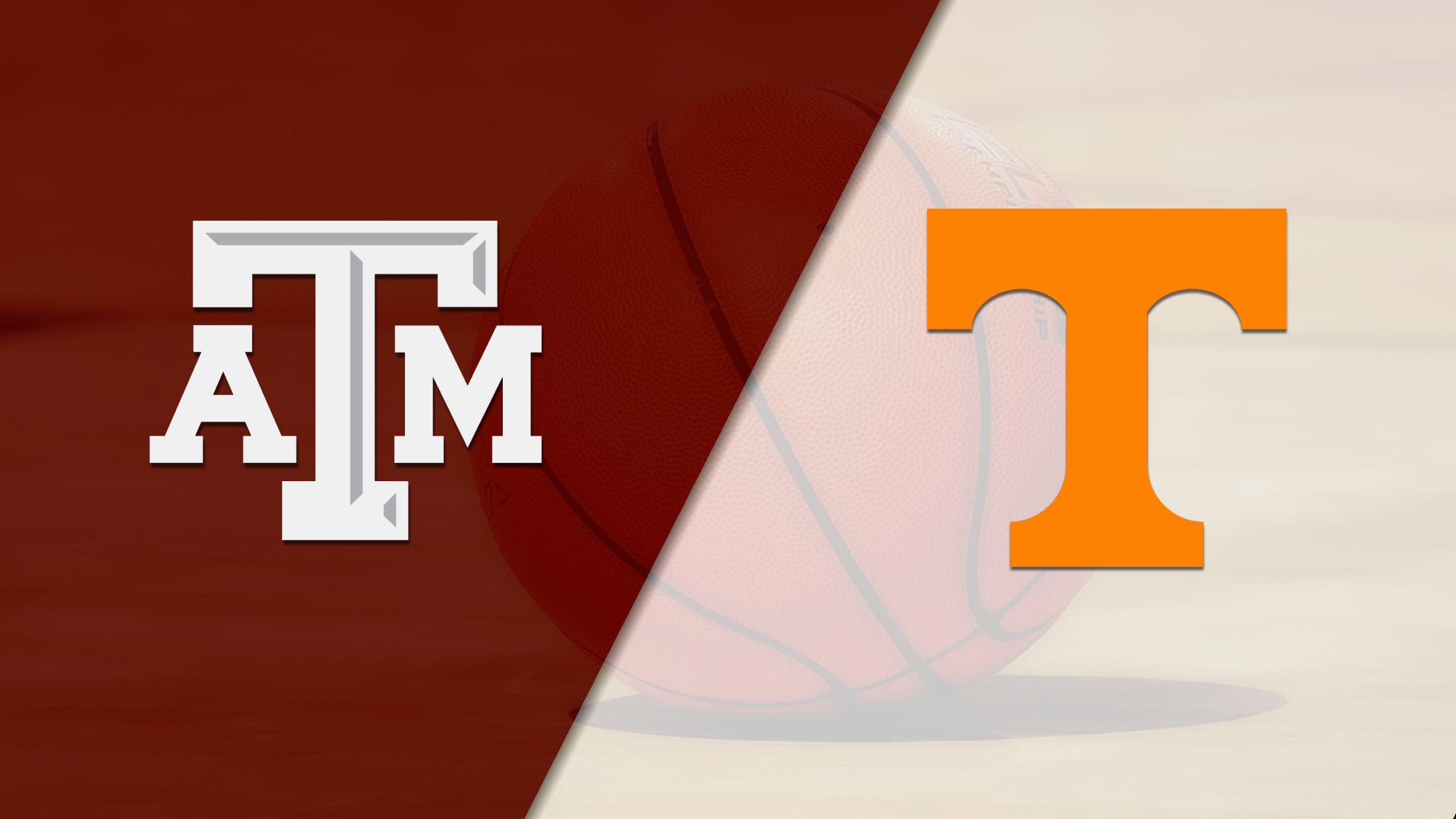 Texas A&M vs. #24 Tennessee (M Basketball)
