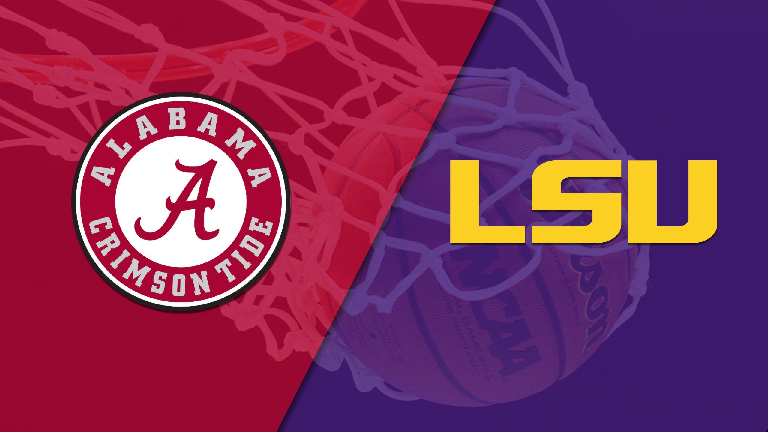 Alabama vs. LSU (M Basketball)