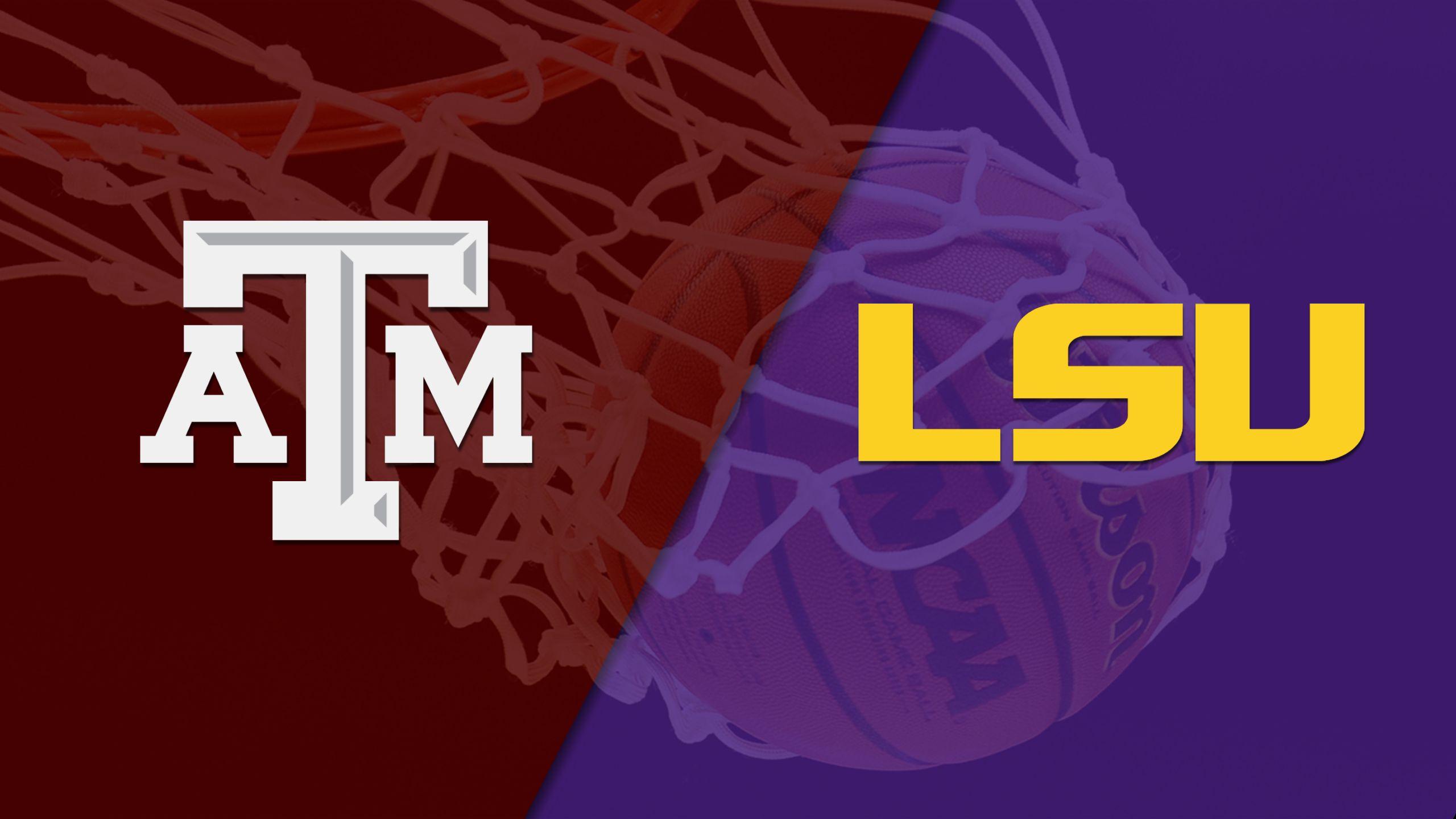 Texas A&M vs. LSU (M Basketball)
