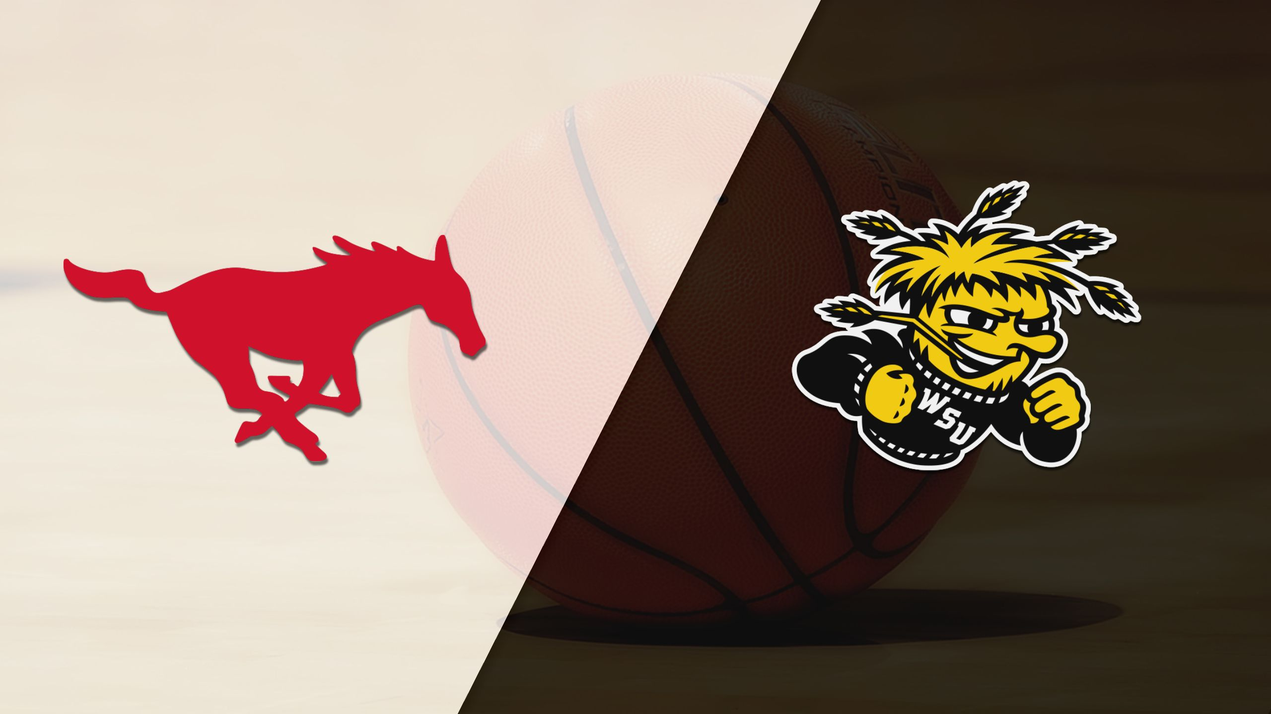 SMU vs. #7 Wichita State (M Basketball) (re-air)