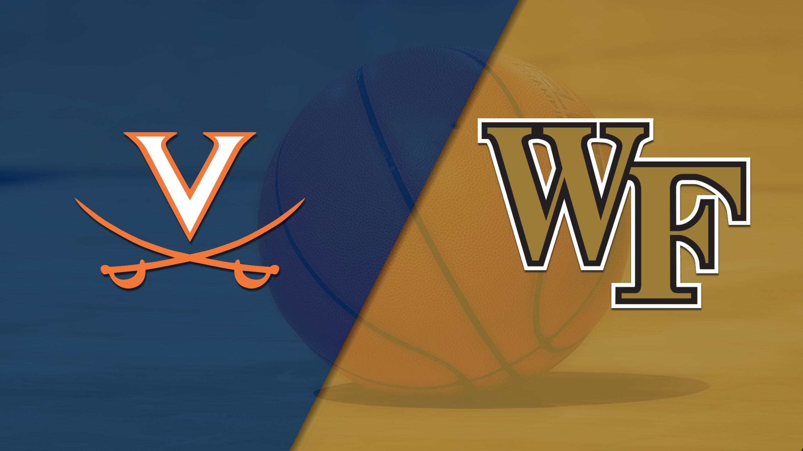 #2 Virginia vs. Wake Forest (M Basketball) (re-air)