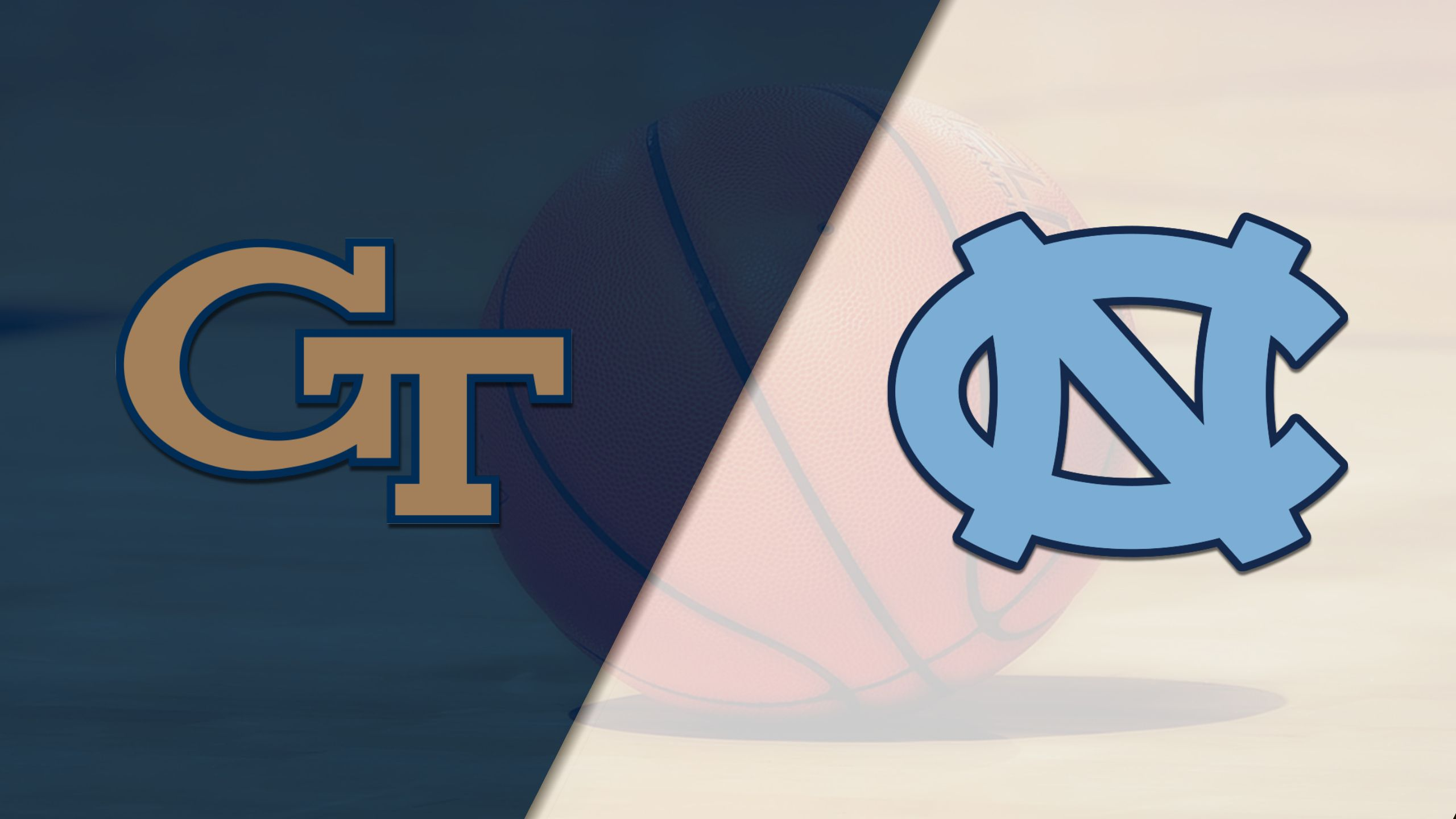 Georgia Tech vs. #15 North Carolina (M Basketball) (re-air)