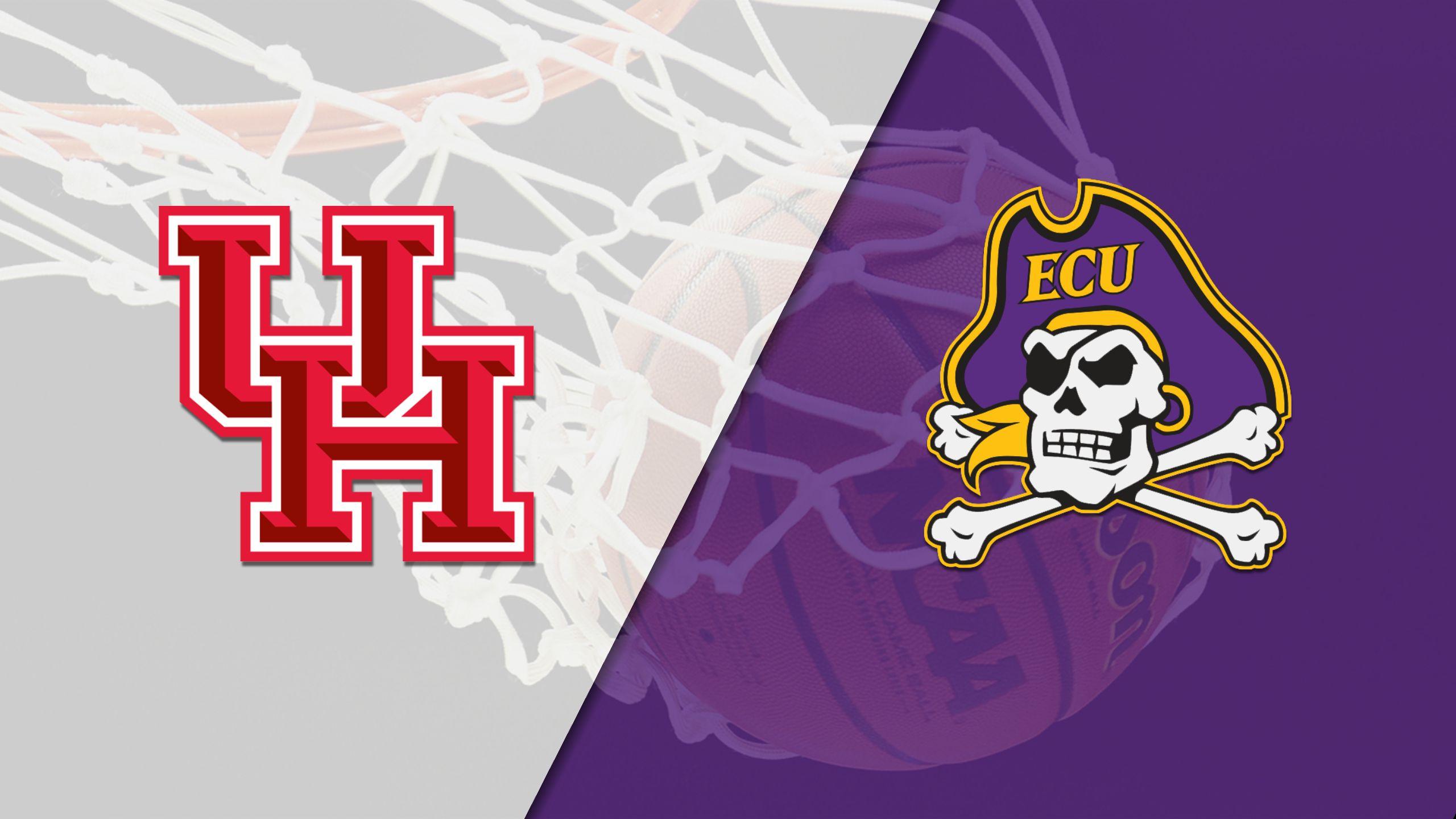 Houston vs. East Carolina (M Basketball)