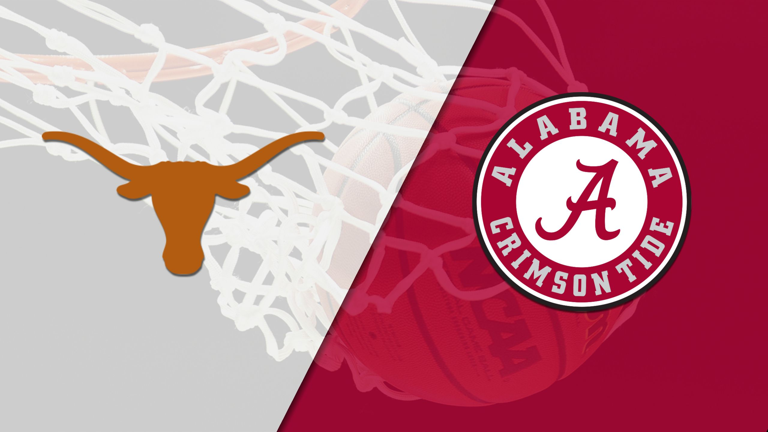 Texas vs. Alabama (M Basketball) (re-air)
