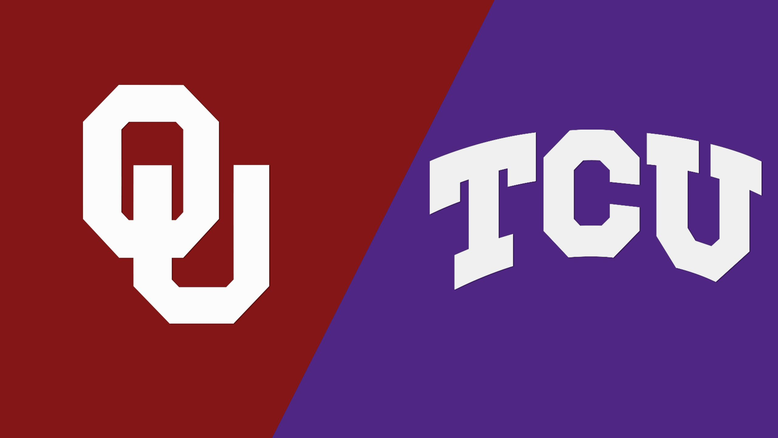 #12 Oklahoma vs. #10 TCU (M Basketball) (re-air)