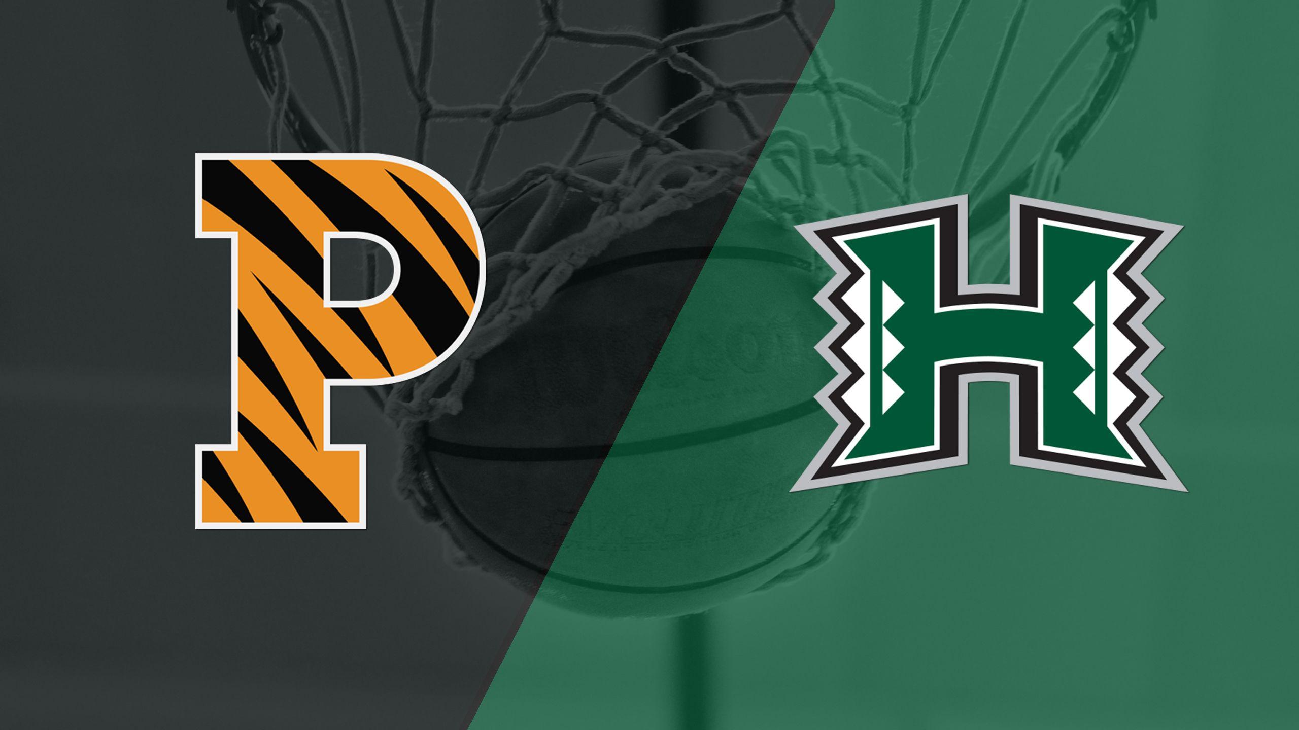 Princeton vs. Hawai'i (5th Place) (Diamond Head Classic)