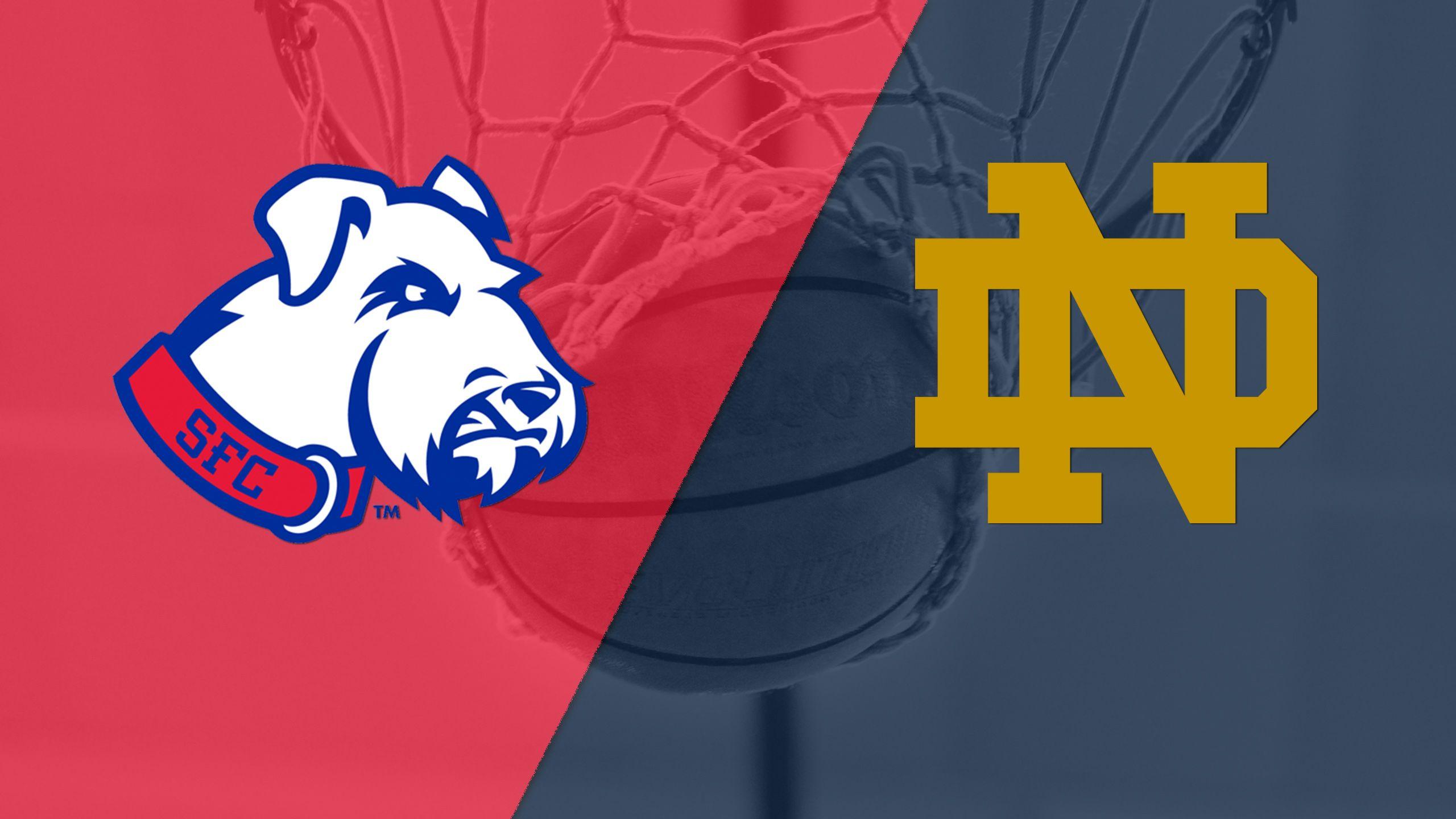 St. Francis (BKN) vs. #5 Notre Dame (M Basketball)