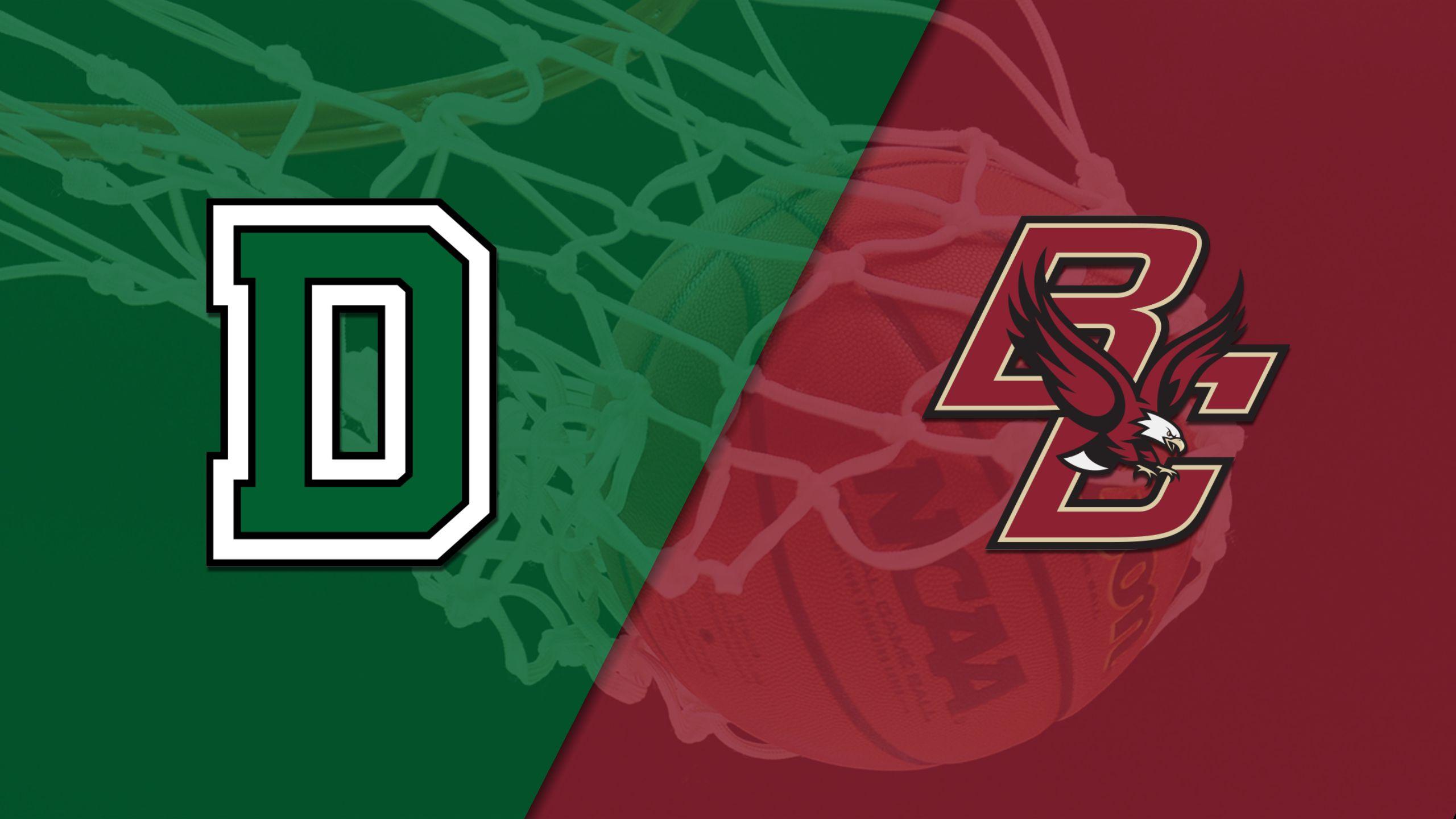 Dartmouth vs. Boston College (M Basketball)