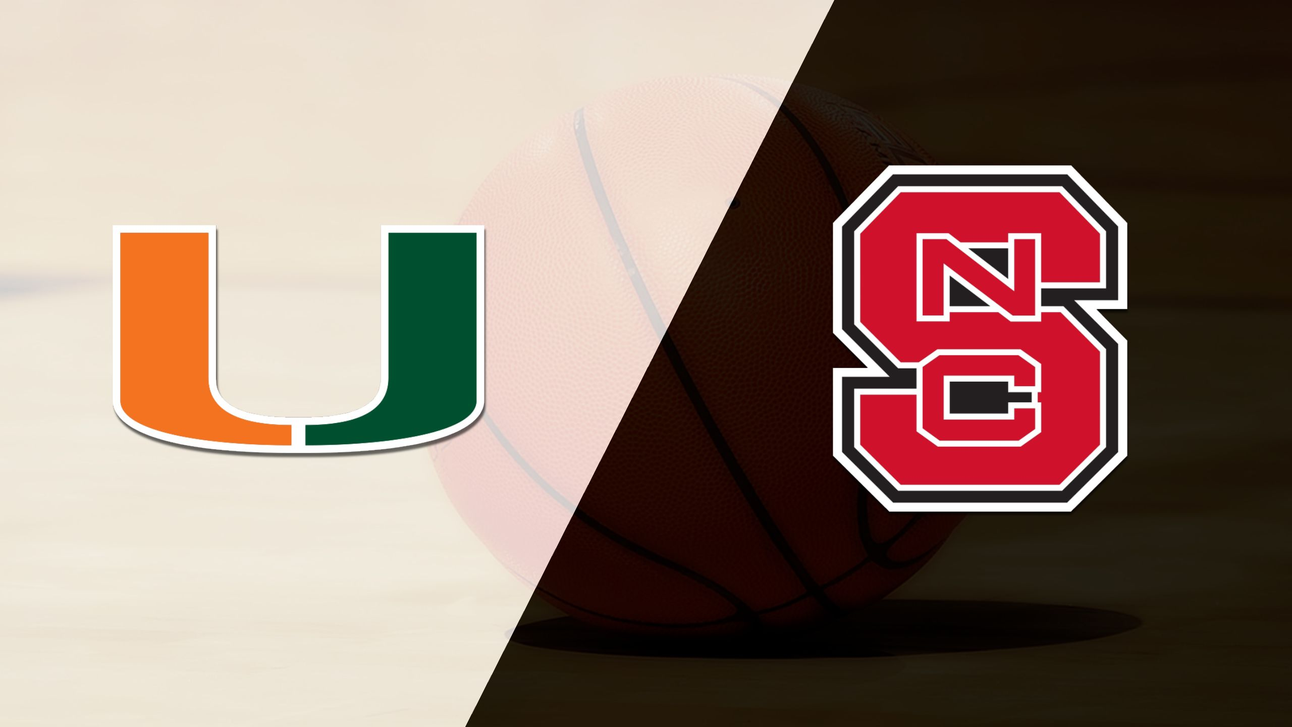 #25 Miami vs. NC State (M Basketball)
