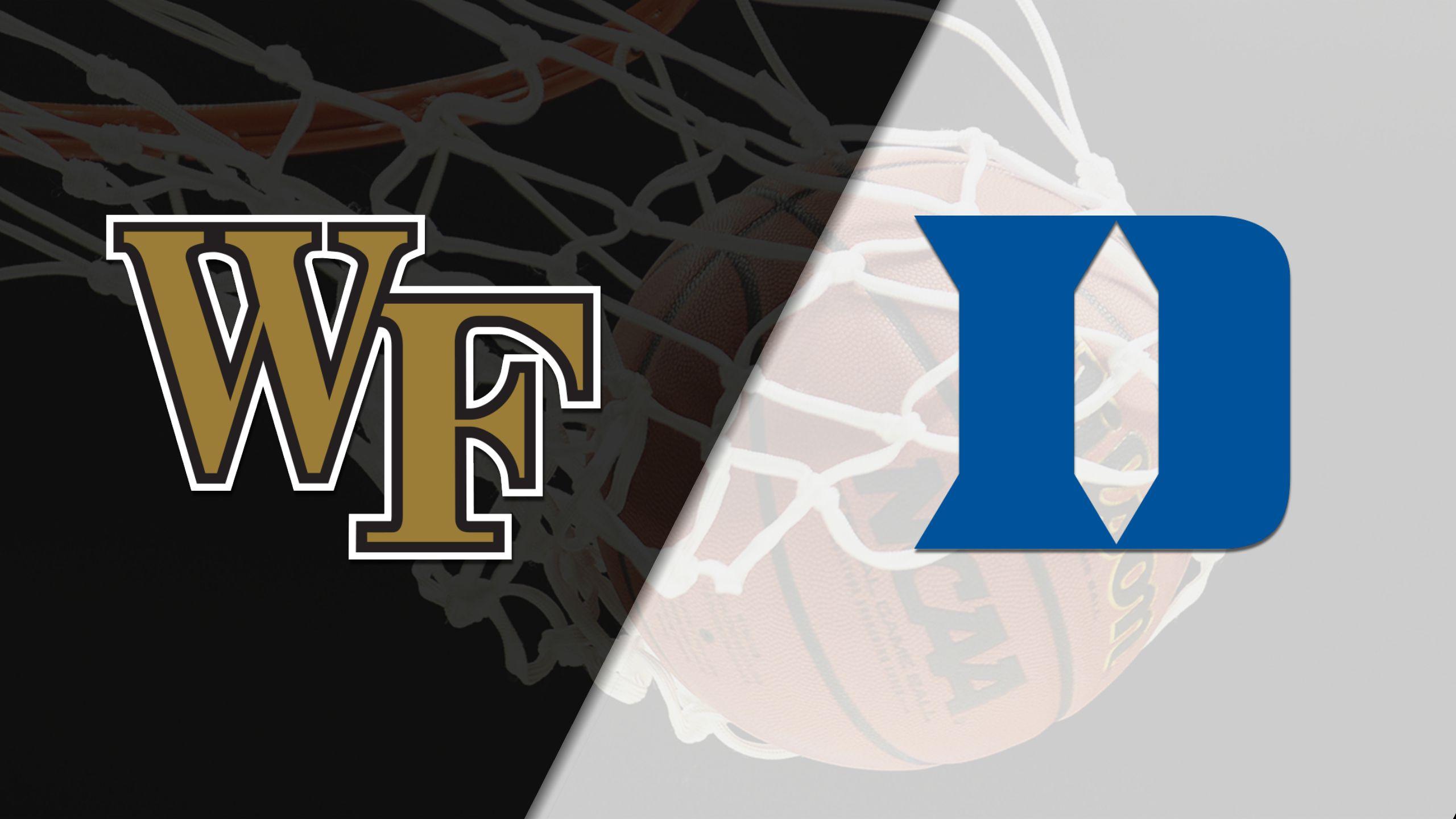 Wake Forest vs. #7 Duke (M Basketball)
