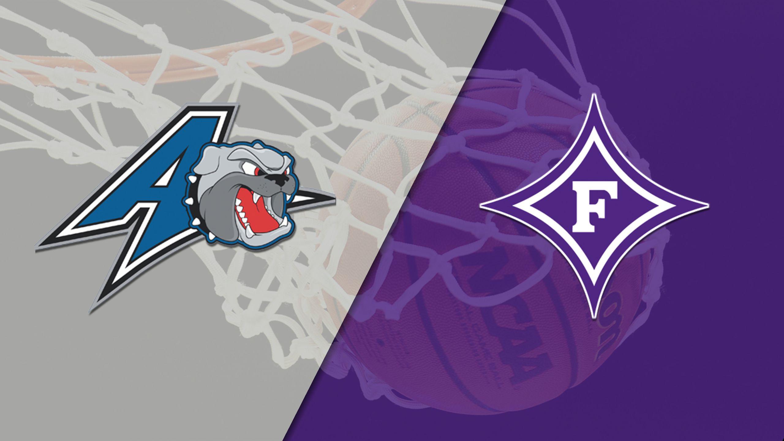 UNC Asheville vs. Furman (M Basketball)