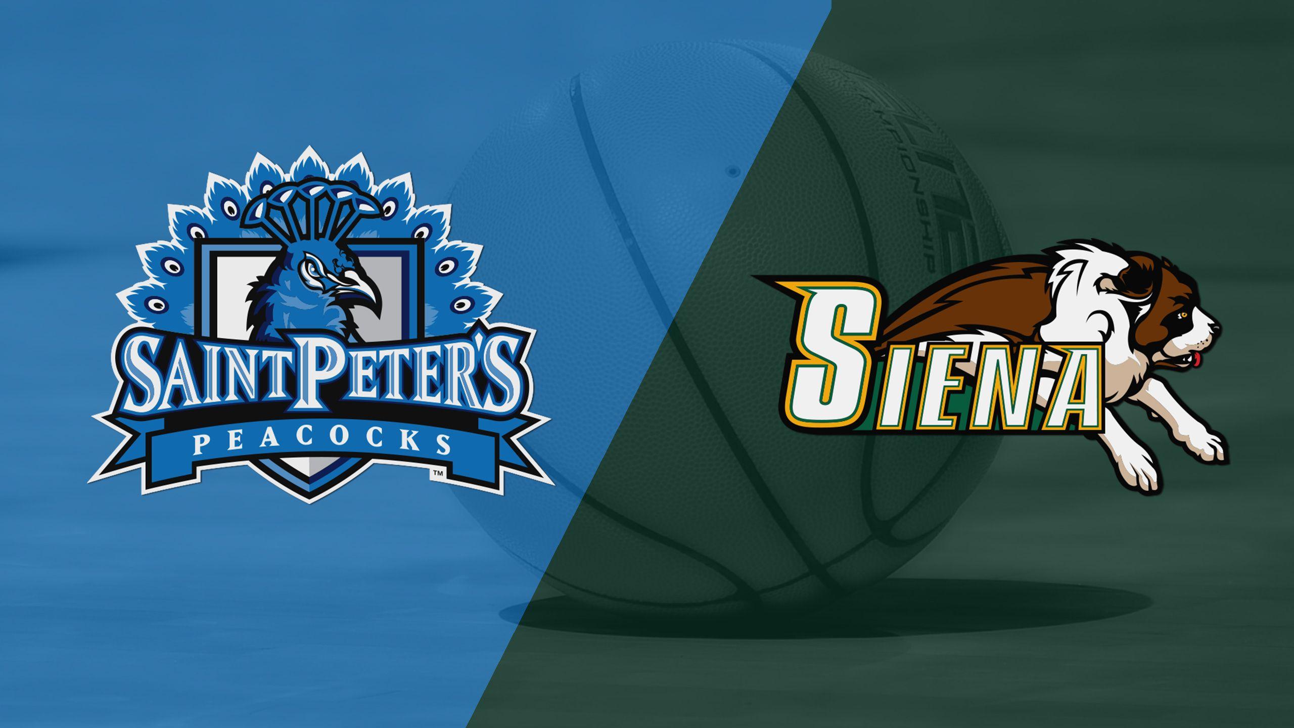Saint Peter's vs. Siena (M Basketball)