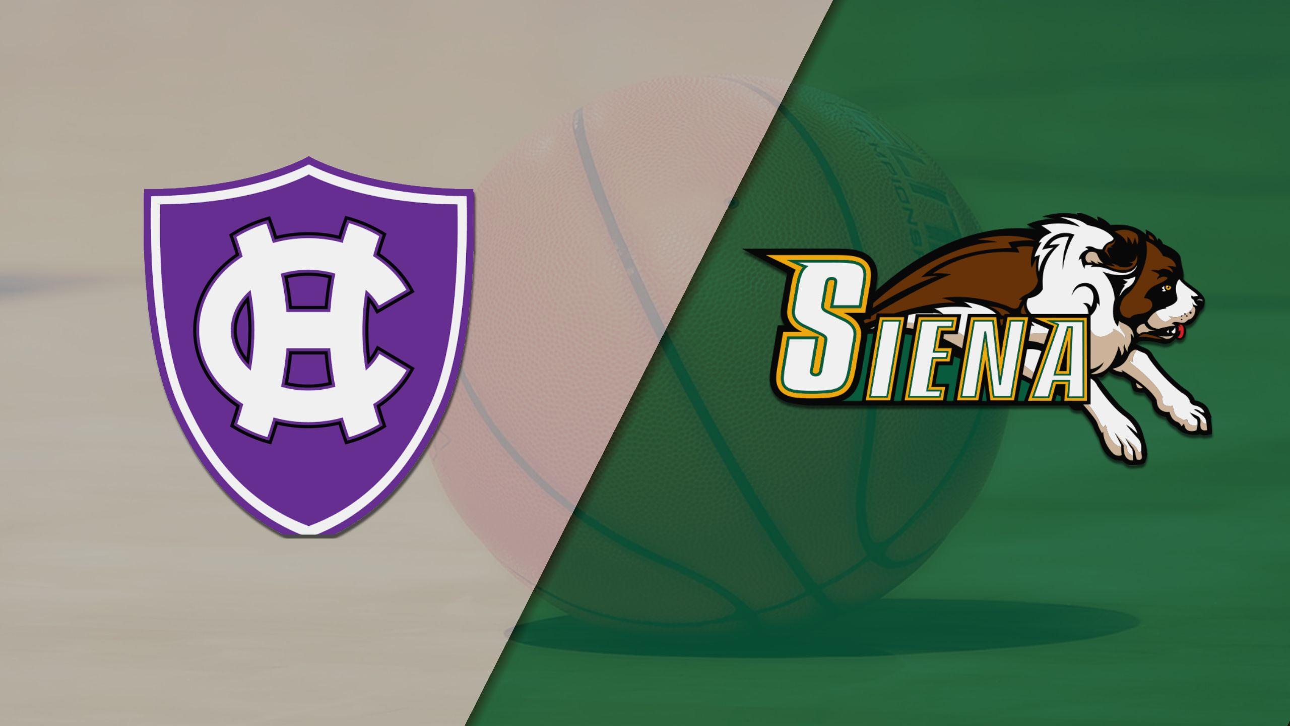 Holy Cross vs. Siena (M Basketball)