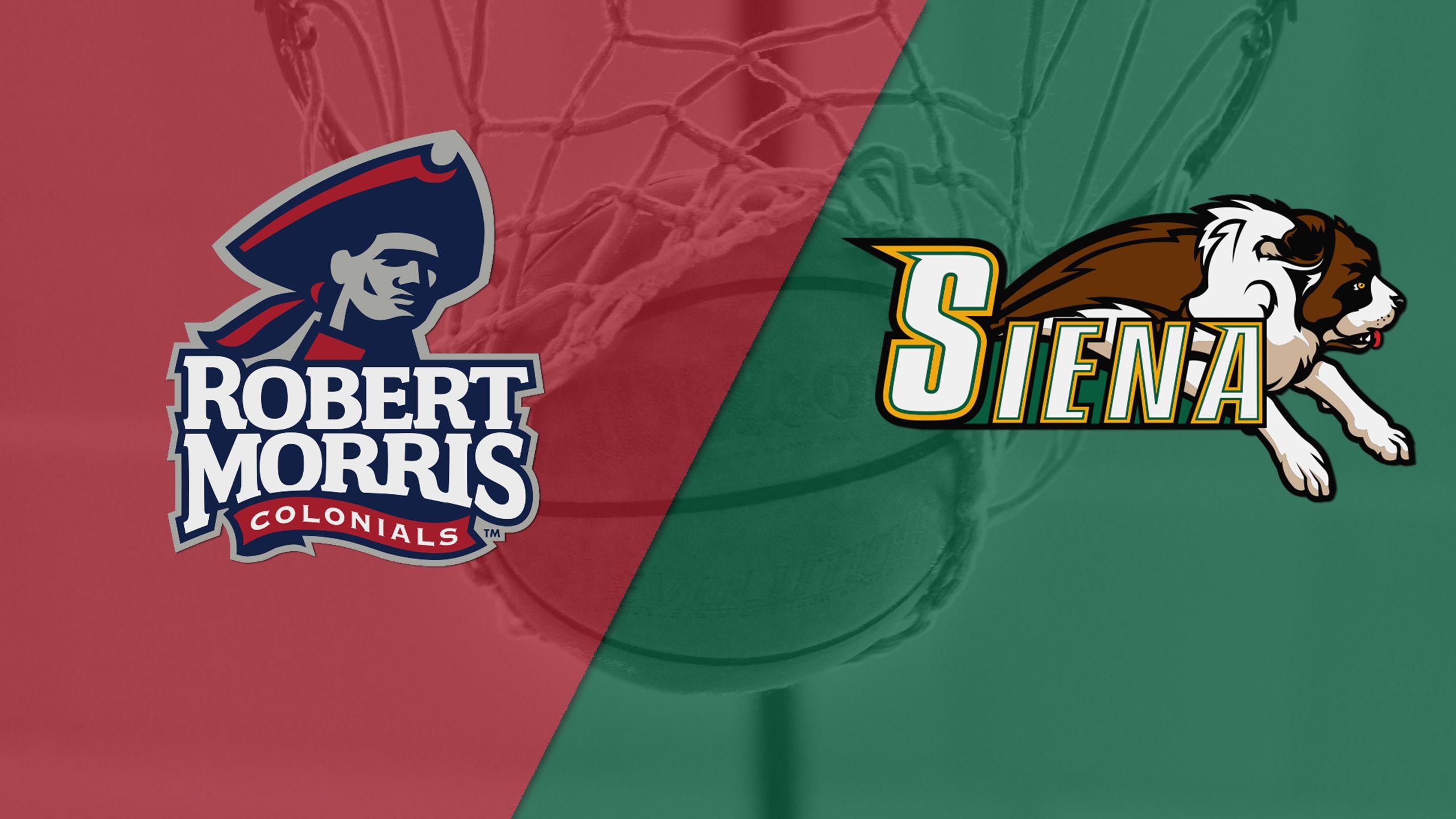 Robert Morris vs. Siena (M Basketball)