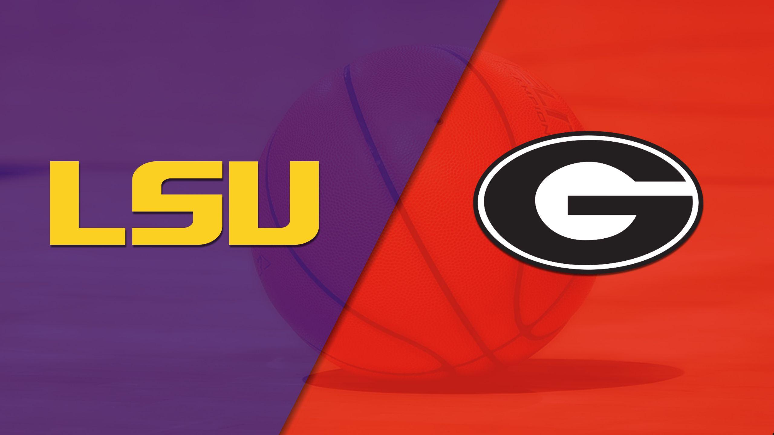 LSU vs. Georgia (M Basketball)