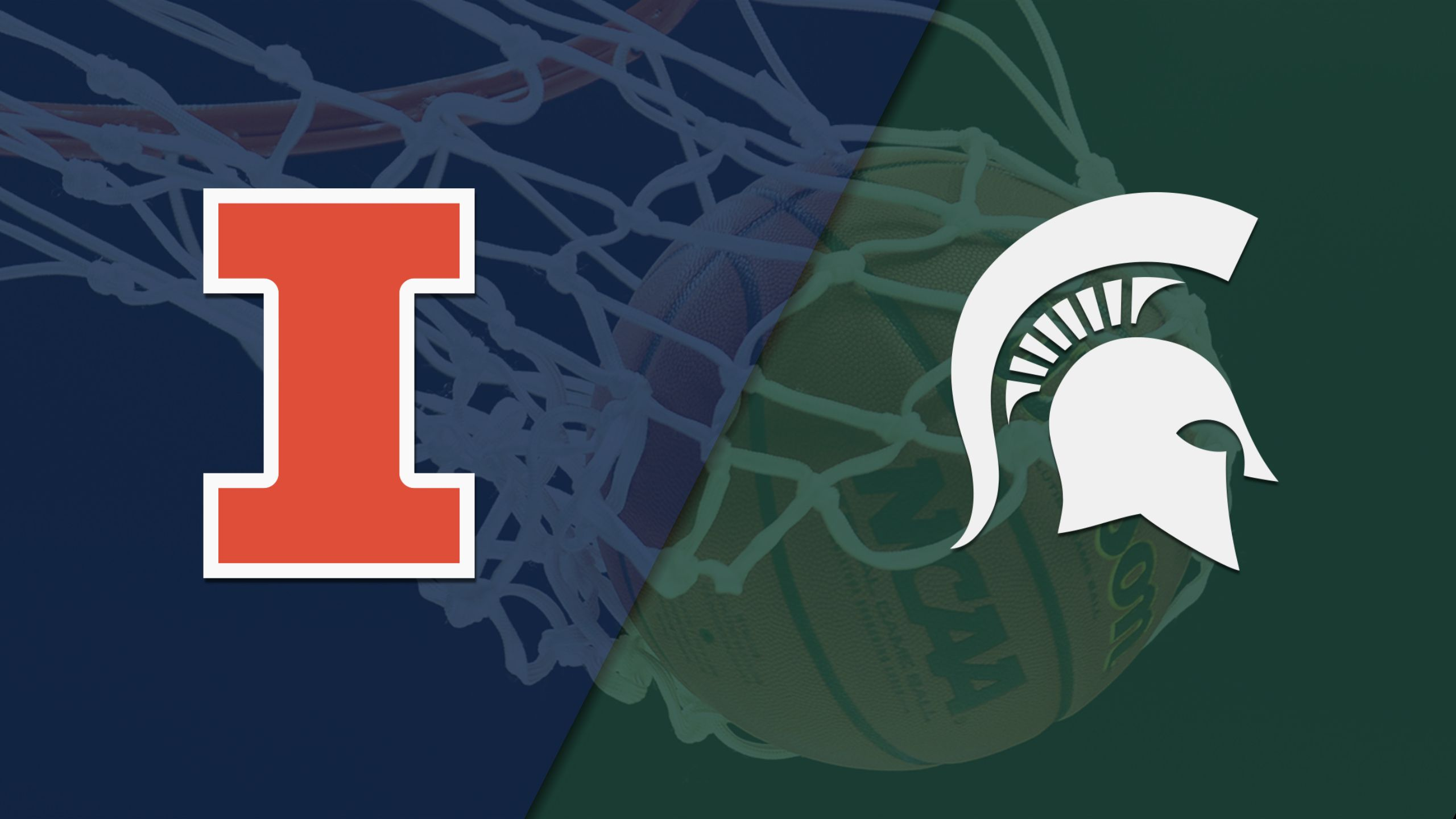 Illinois vs. #2 Michigan State (M Basketball) (re-air)