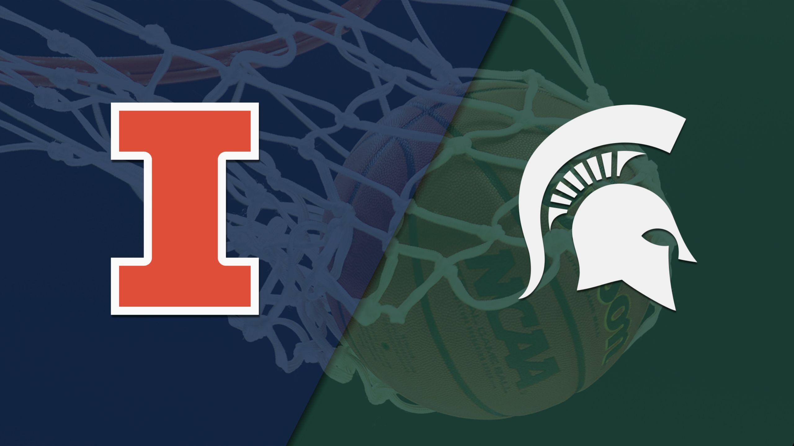 Illinois vs. #2 Michigan State (M Basketball)