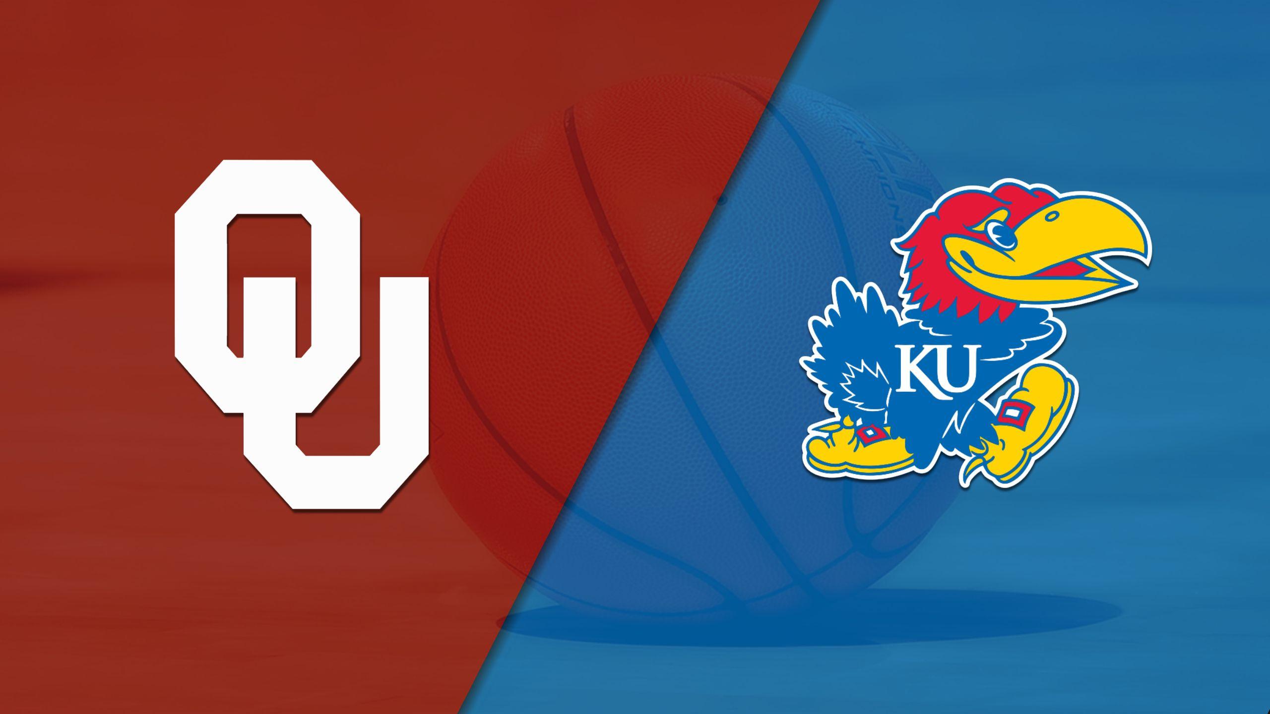 Oklahoma vs. #8 Kansas (M Basketball) (re-air)