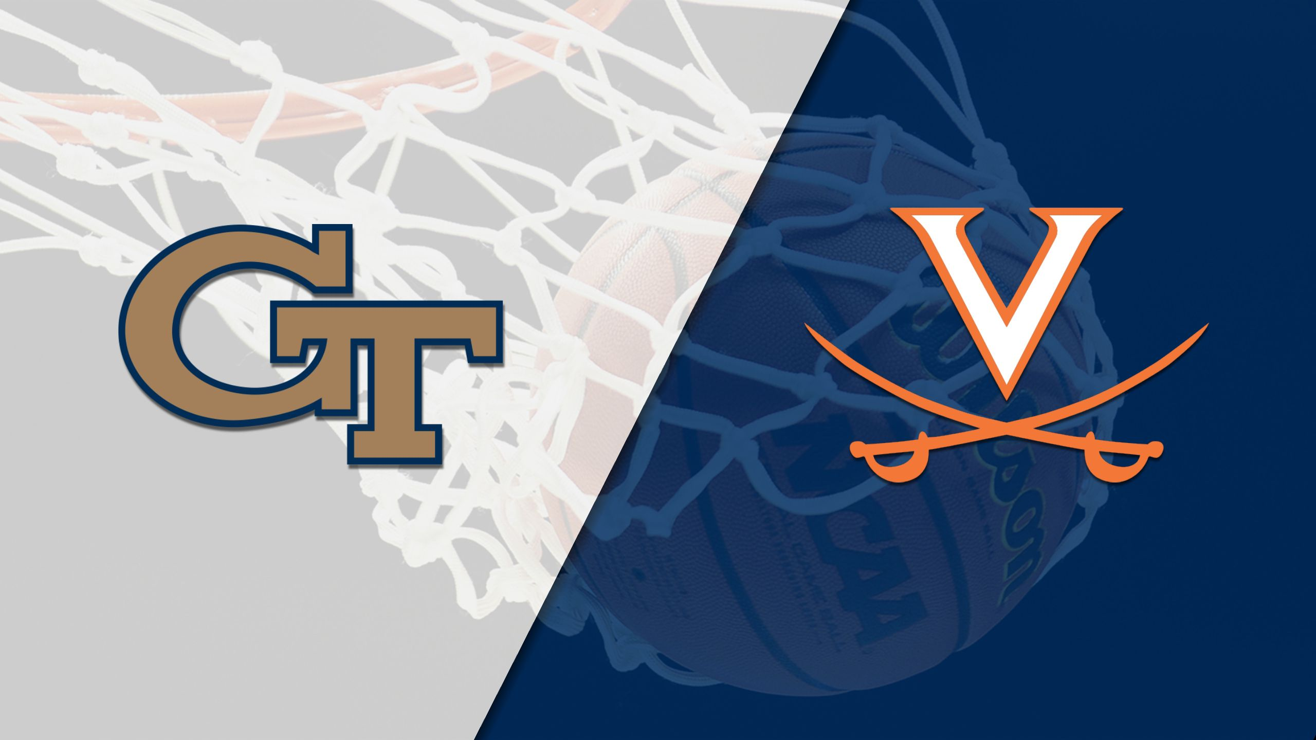 Georgia Tech vs. #1 Virginia (M Basketball) (re-air)