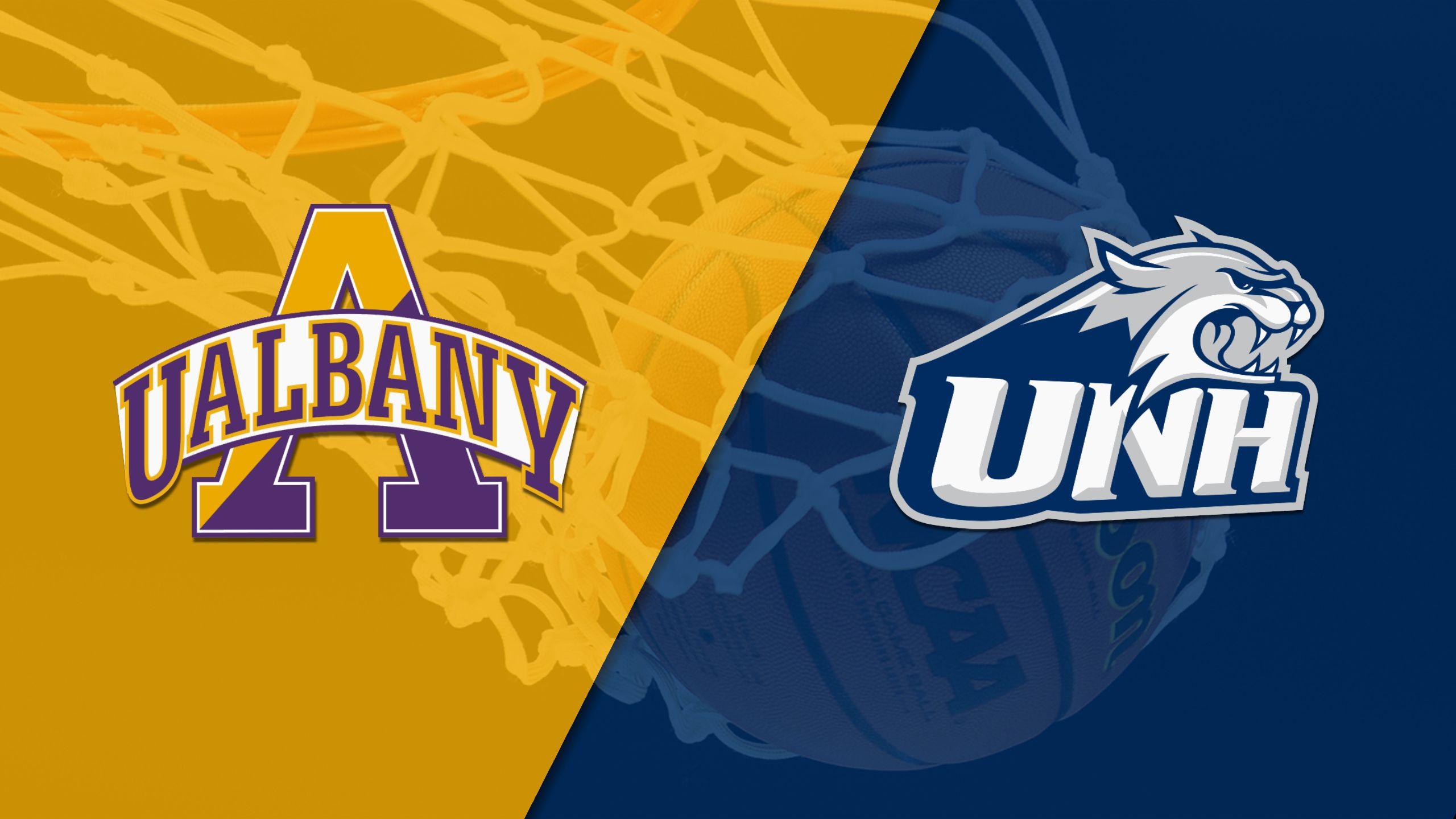 Albany vs. New Hampshire (M Basketball)
