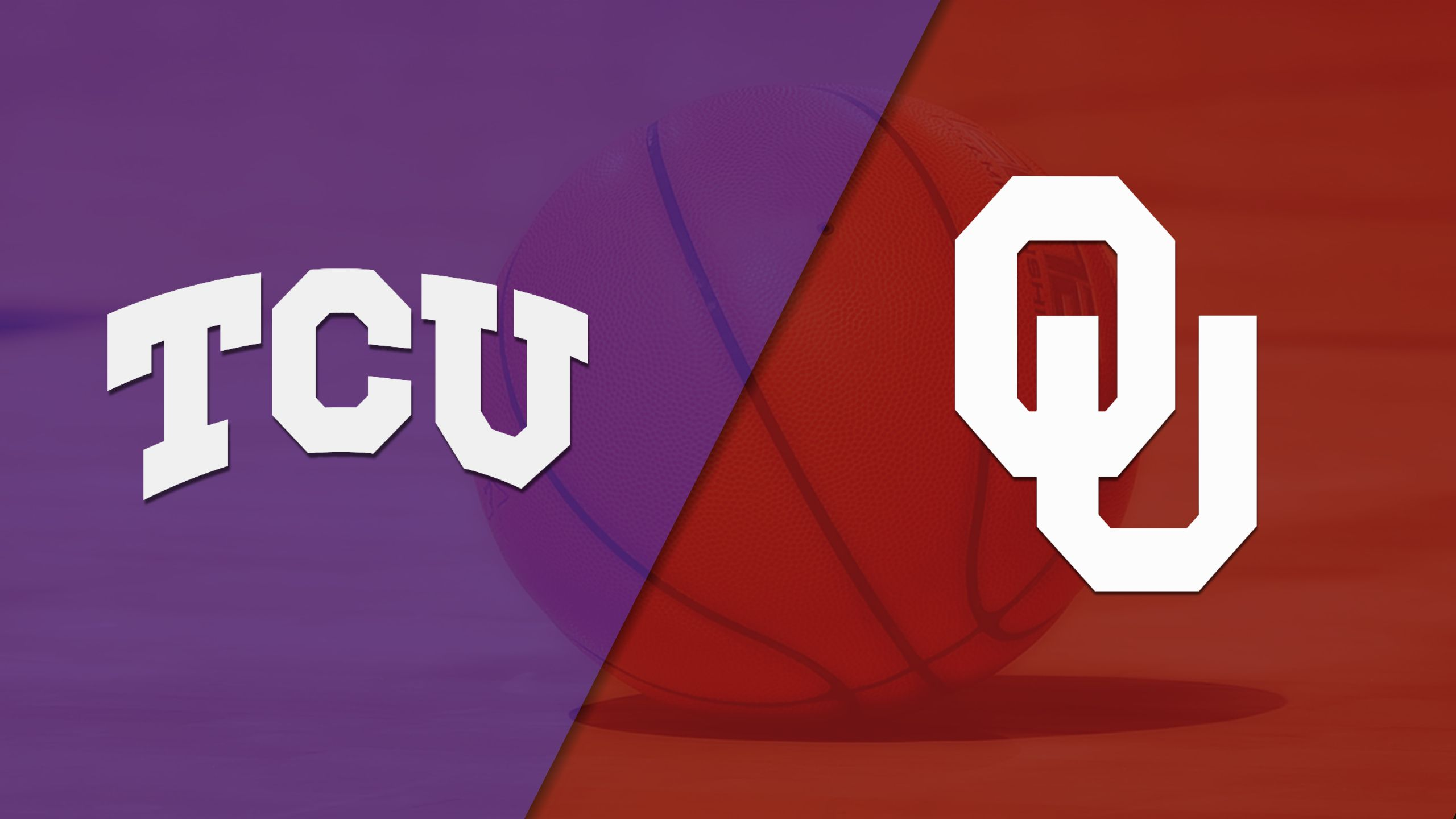 #16 TCU vs. #9 Oklahoma (M Basketball) (re-air)