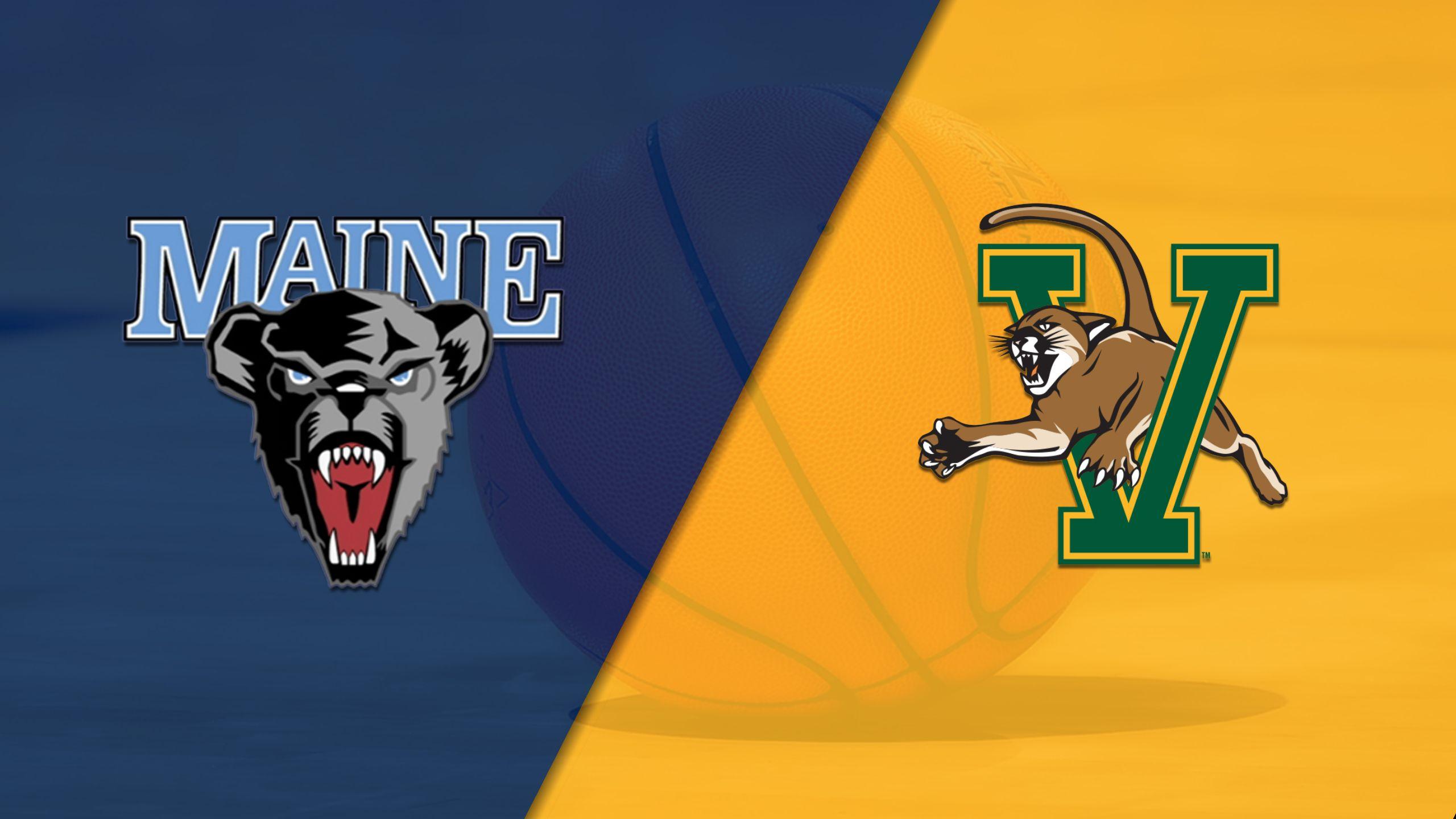 Maine vs. Vermont (M Basketball)