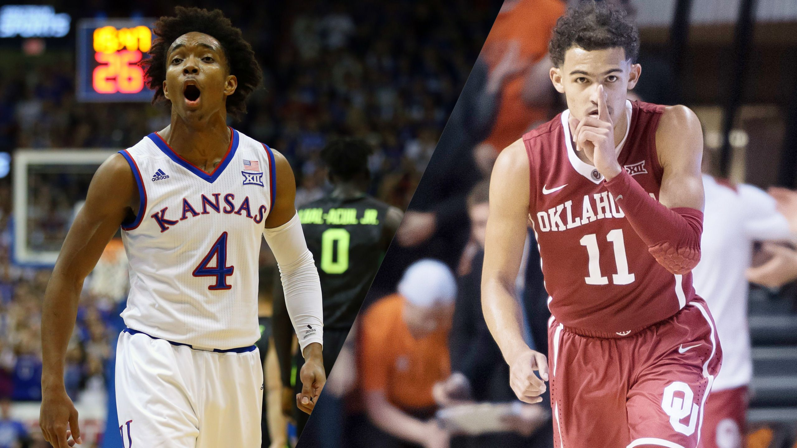 #5 Kansas vs. #12 Oklahoma (M Basketball) (re-air)
