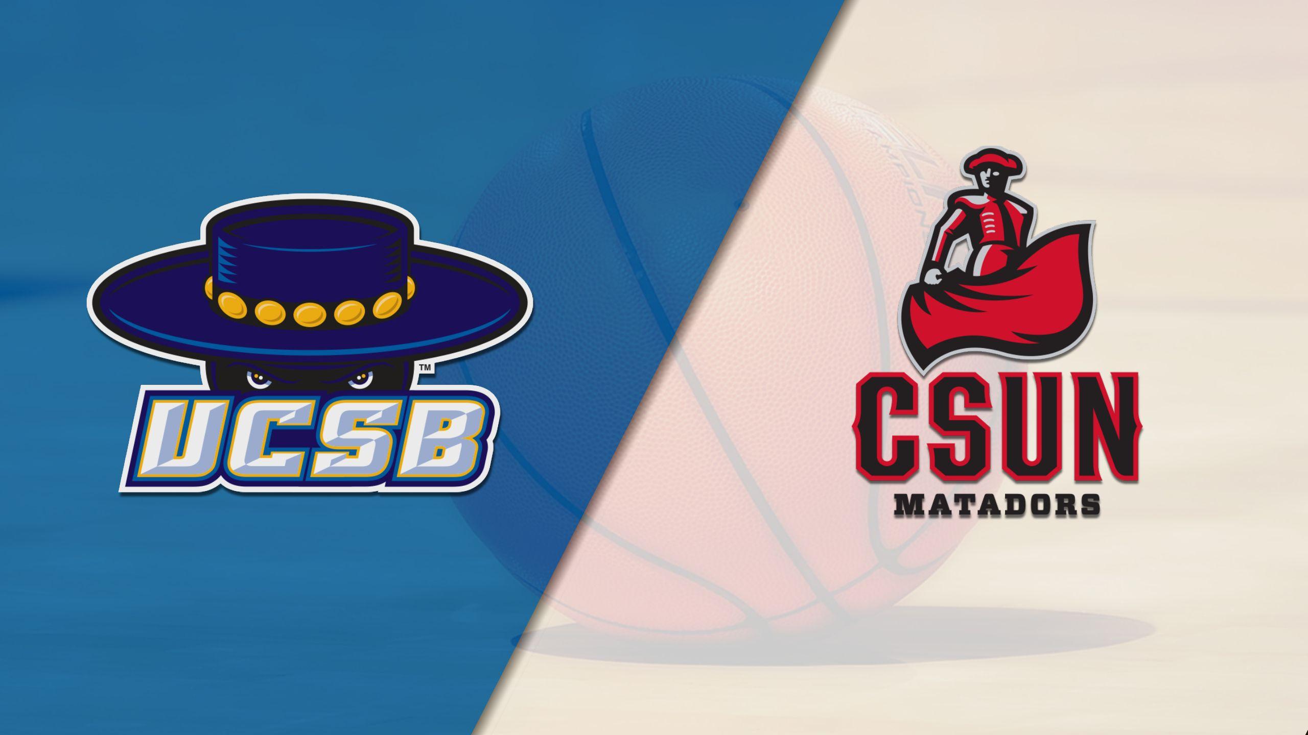 UC Santa Barbara vs. Cal State Northridge (M Basketball)