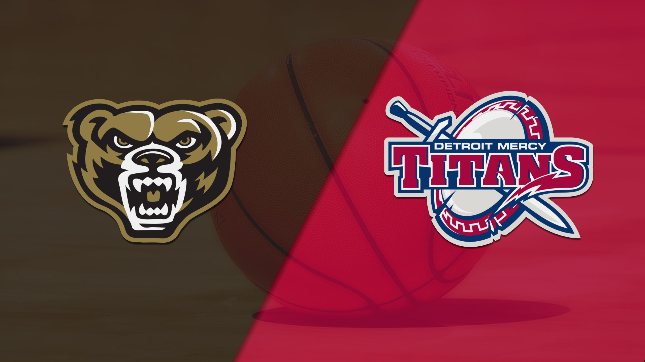 Oakland vs. Detroit (M Basketball)