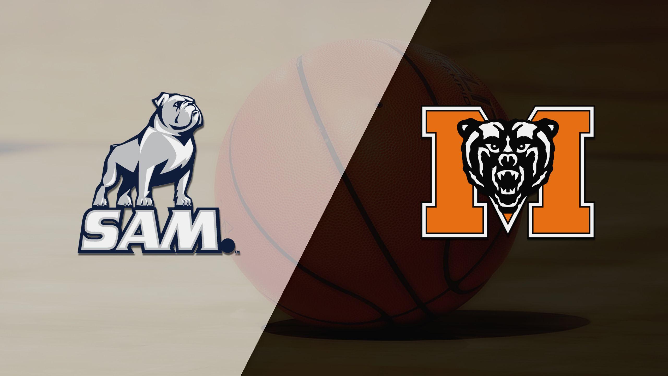 Samford vs. Mercer (M Basketball)
