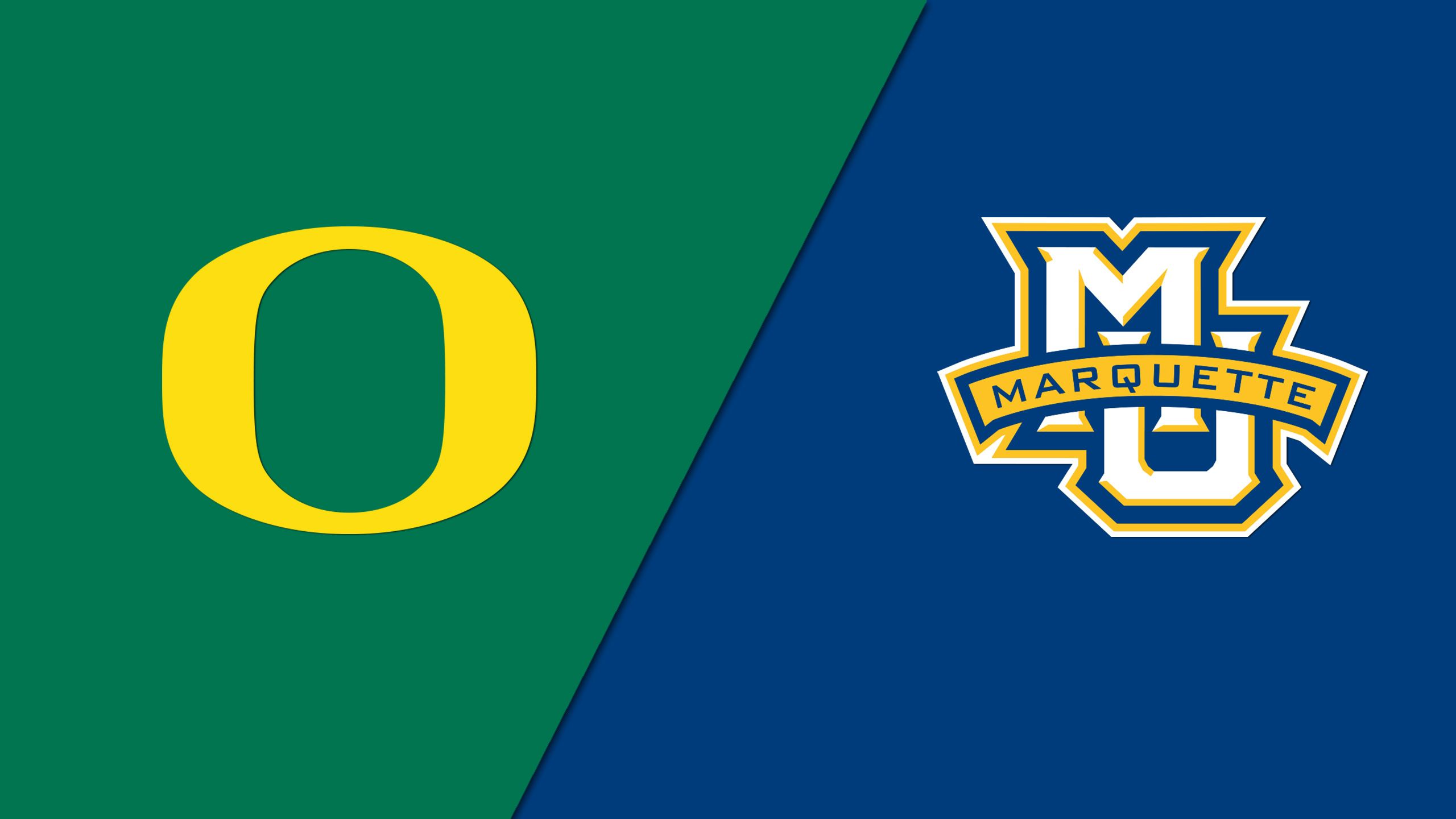 #3 Oregon vs. #2 Marquette (Second Round) (NIT) (re-air)