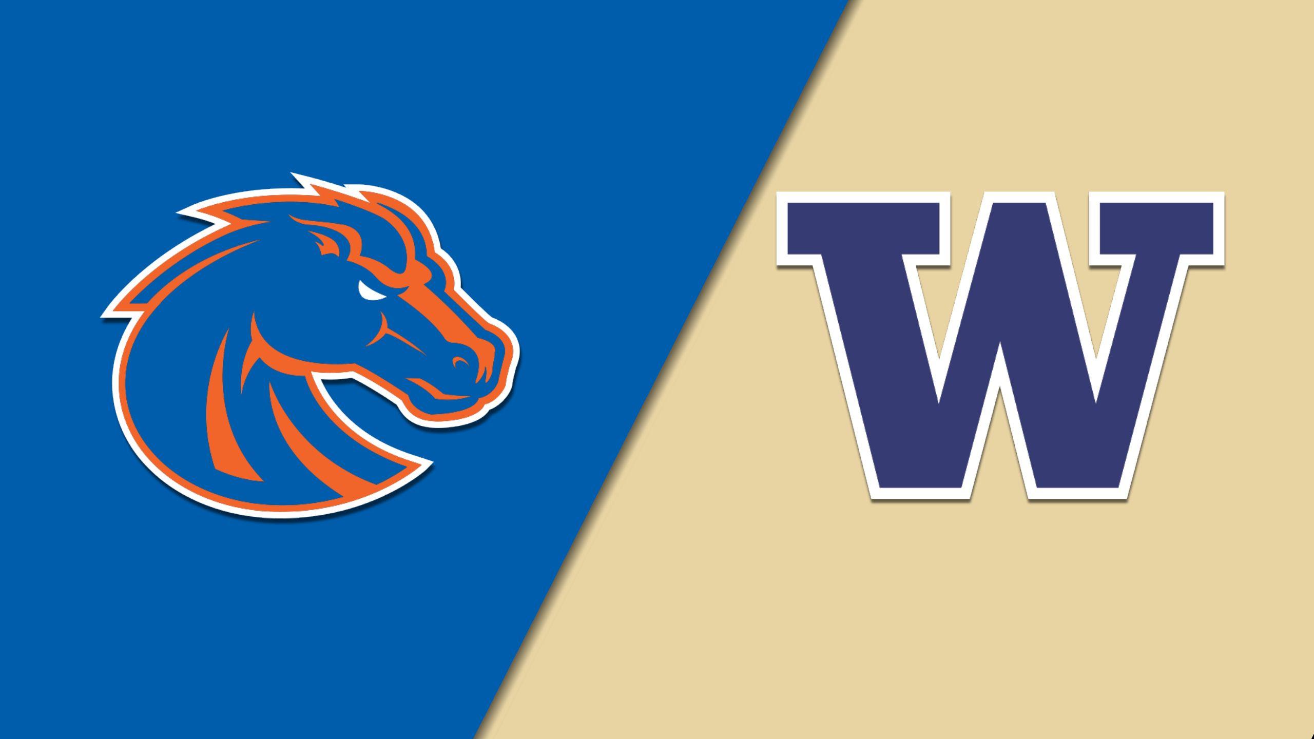 #4 Boise State vs. #5 Washington (First Round) (NIT)