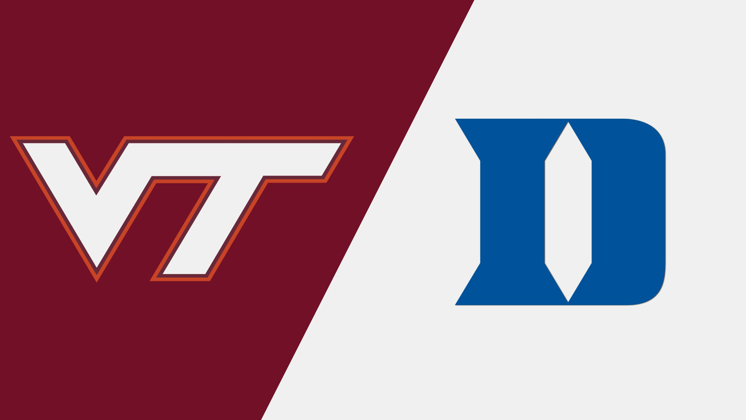 Virginia Tech vs. #12 Duke (M Basketball) (re-air)