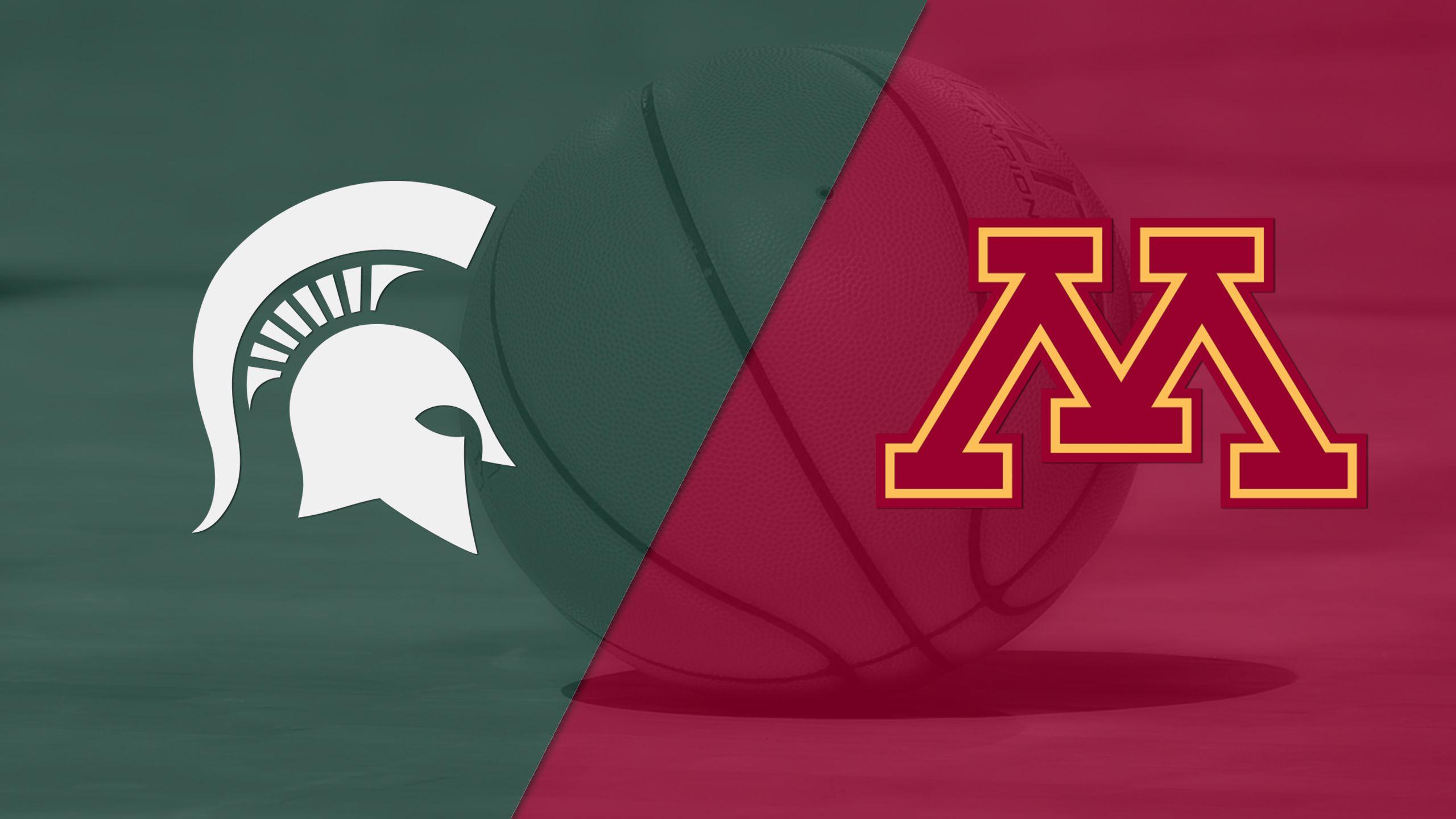 #2 Michigan State vs. Minnesota (M Basketball) (re-air)