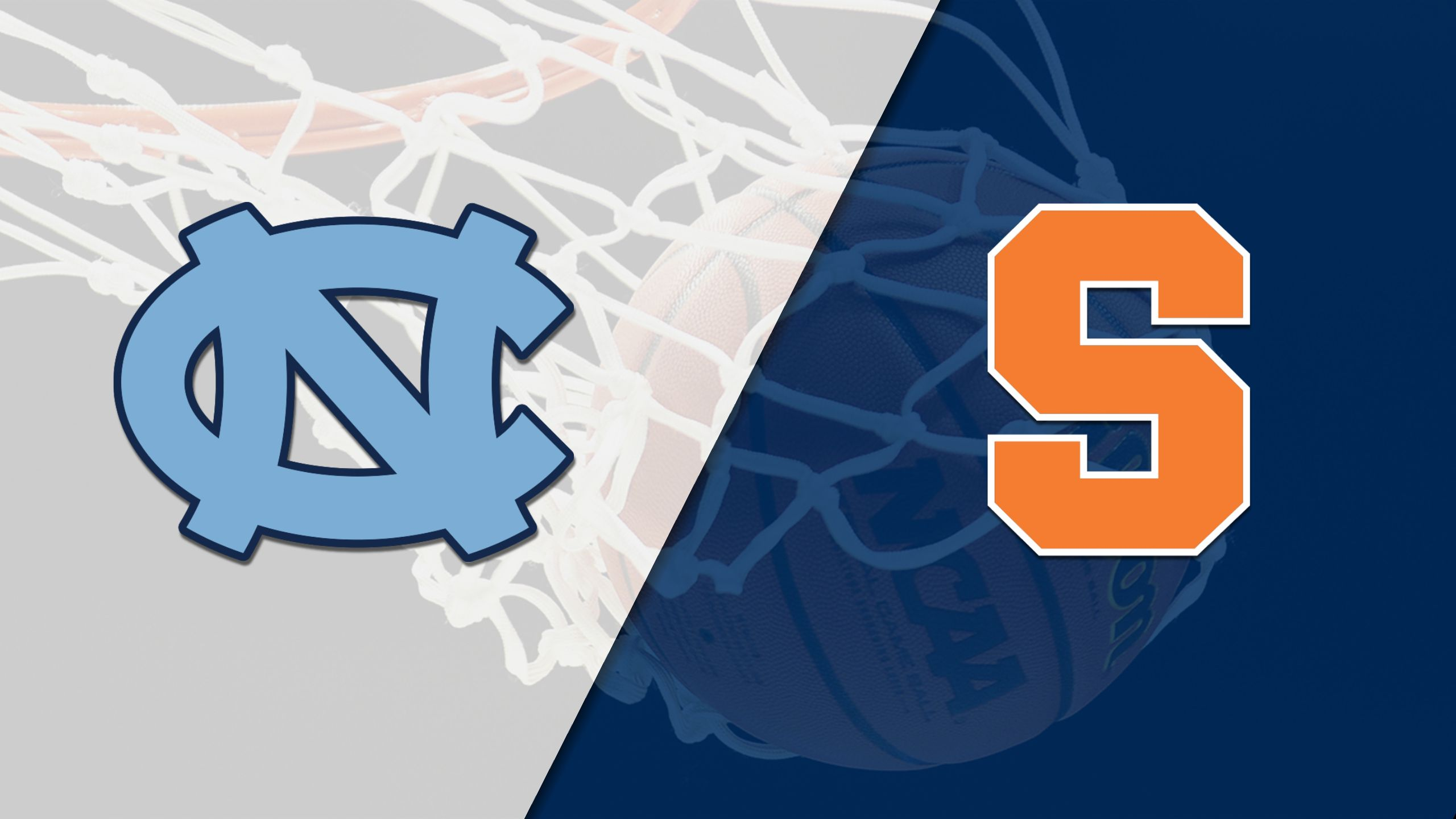 #10 North Carolina vs. Syracuse (M Basketball) (re-air)